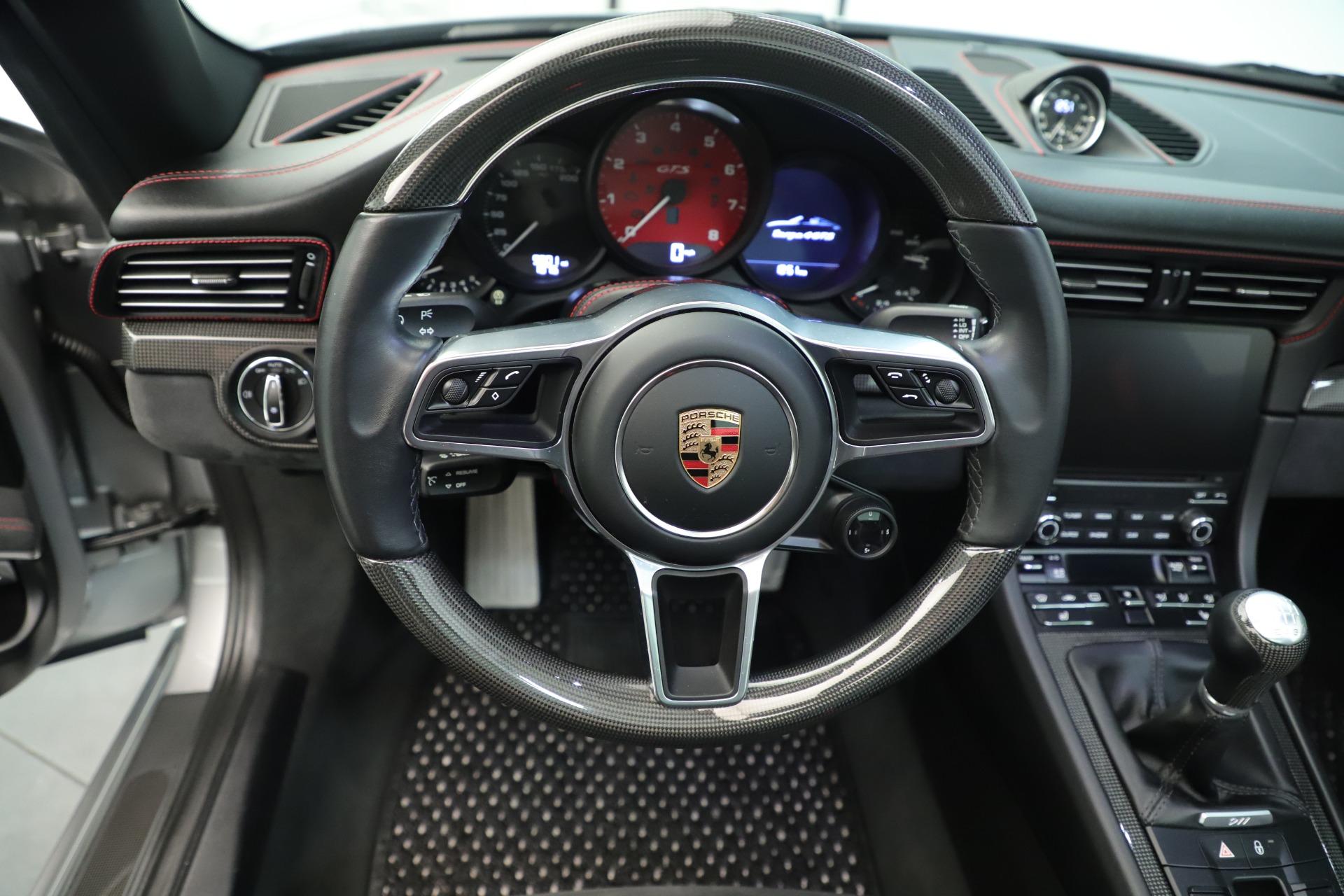 Used 2017 Porsche 911 Targa 4 GTS For Sale In Greenwich, CT. Alfa Romeo of Greenwich, 7514A 3374_p25