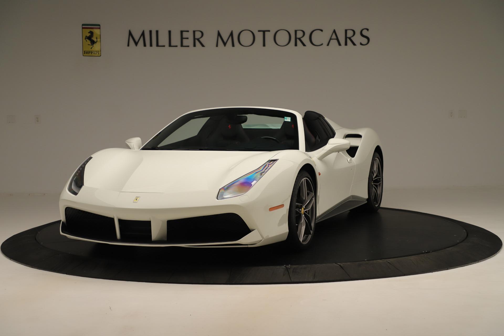 Used 2016 Ferrari 488 Spider  For Sale In Greenwich, CT. Alfa Romeo of Greenwich, 4595 3375_main