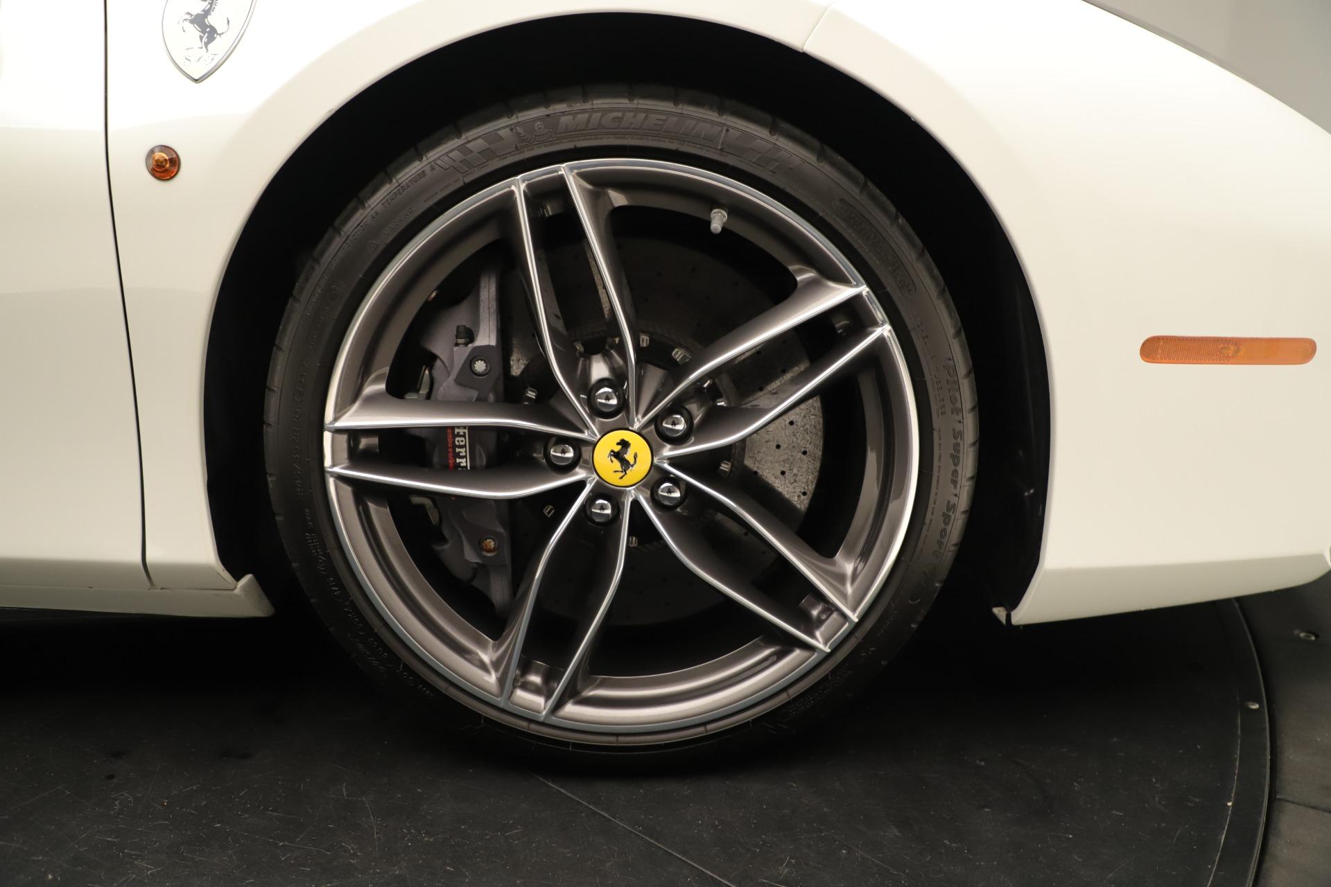 Used 2016 Ferrari 488 Spider  For Sale In Greenwich, CT. Alfa Romeo of Greenwich, 4595 3375_p19