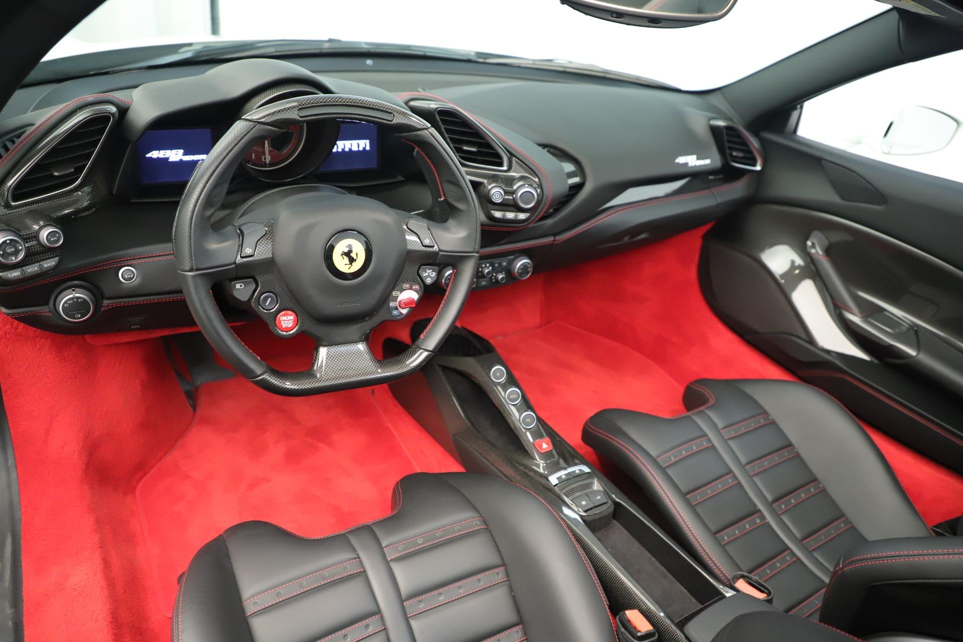 Used 2016 Ferrari 488 Spider  For Sale In Greenwich, CT. Alfa Romeo of Greenwich, 4595 3375_p20