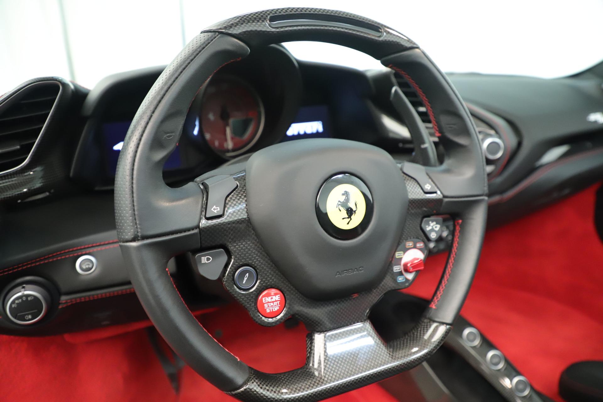 Used 2016 Ferrari 488 Spider  For Sale In Greenwich, CT. Alfa Romeo of Greenwich, 4595 3375_p27