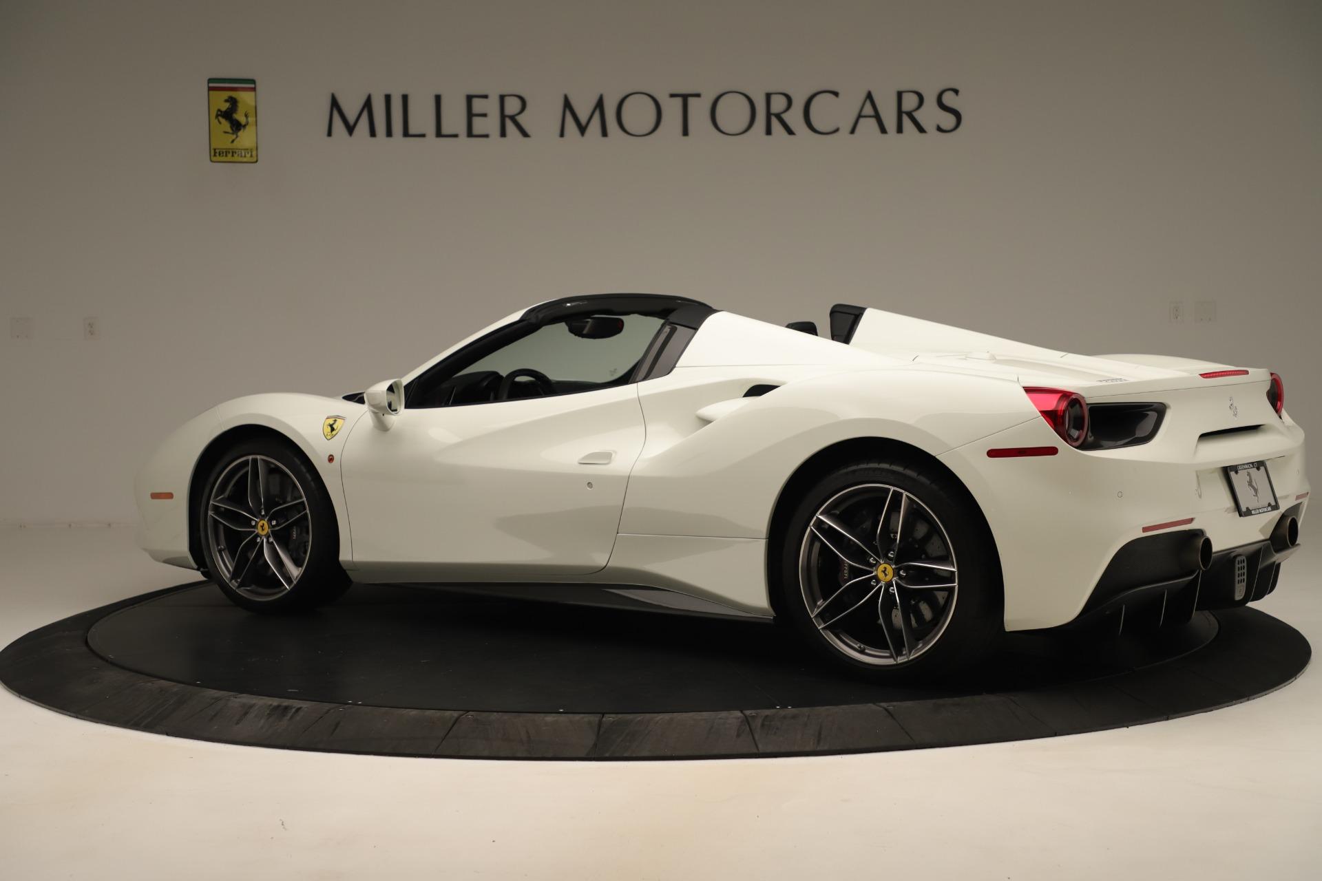 Used 2016 Ferrari 488 Spider  For Sale In Greenwich, CT. Alfa Romeo of Greenwich, 4595 3375_p4