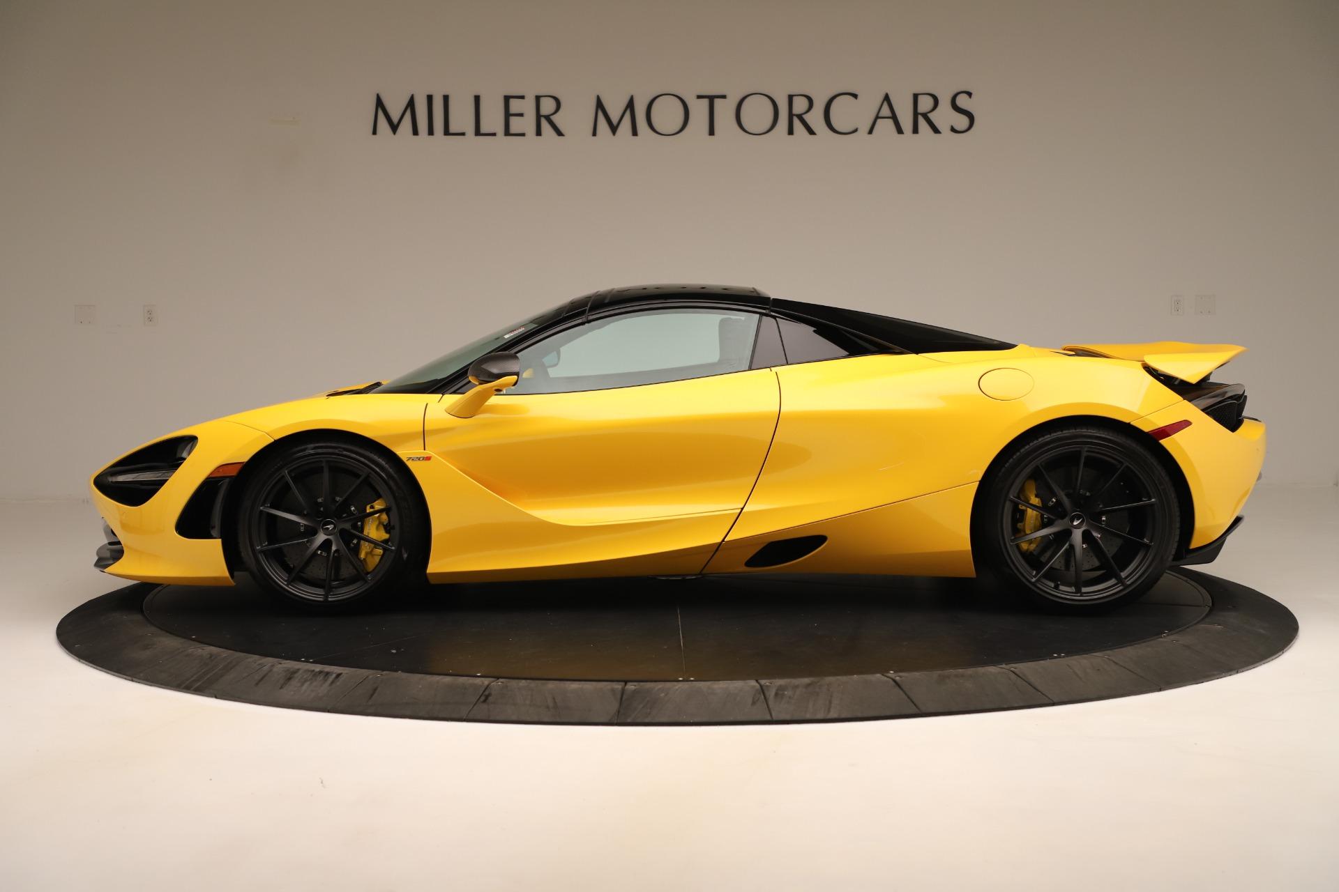 New 2020 McLaren 720S Convertible For Sale In Greenwich, CT. Alfa Romeo of Greenwich, MC453 3388_p3