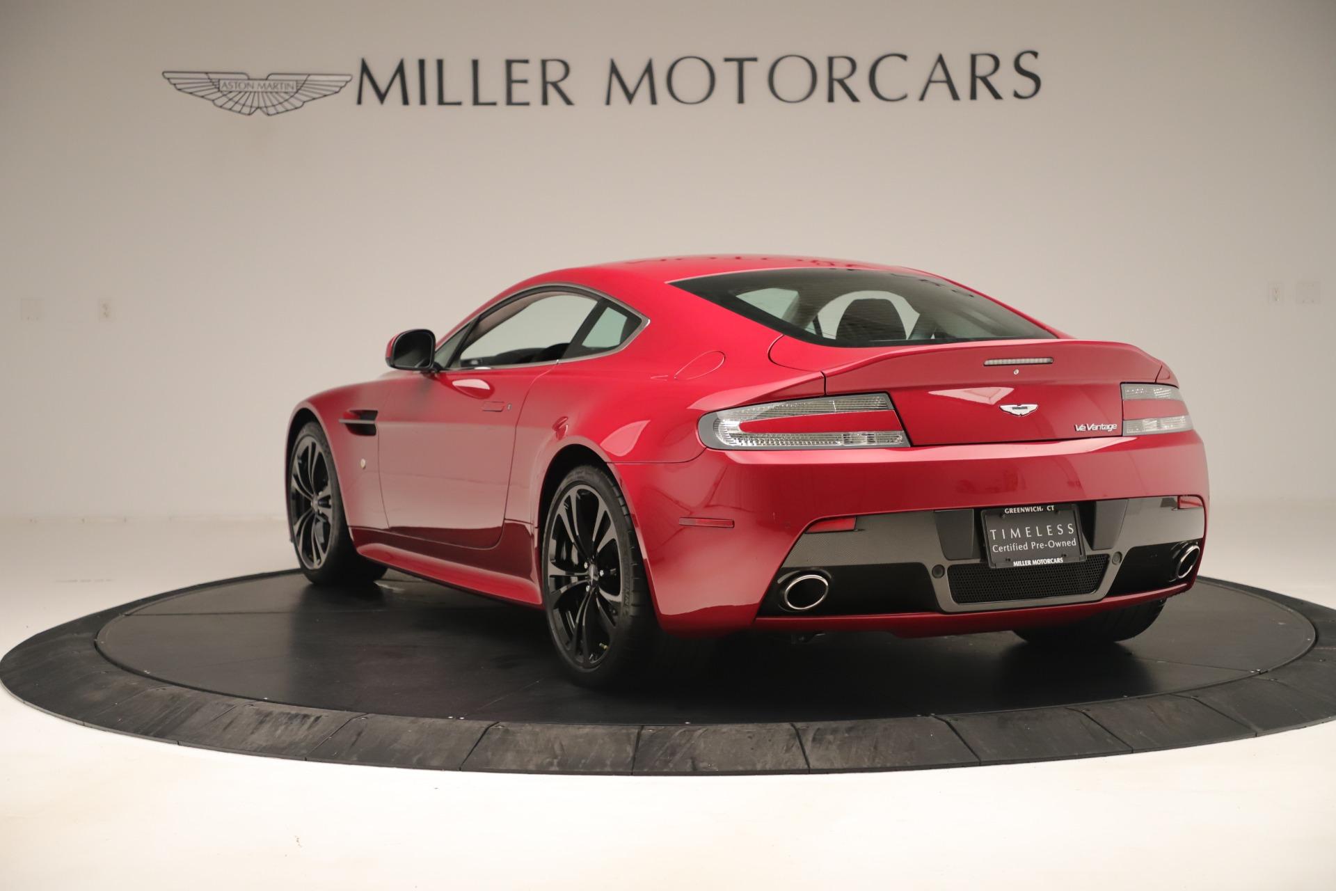 Used 2011 Aston Martin V12 Vantage Coupe For Sale In Greenwich, CT. Alfa Romeo of Greenwich, VANTAGEV12 3395_p7