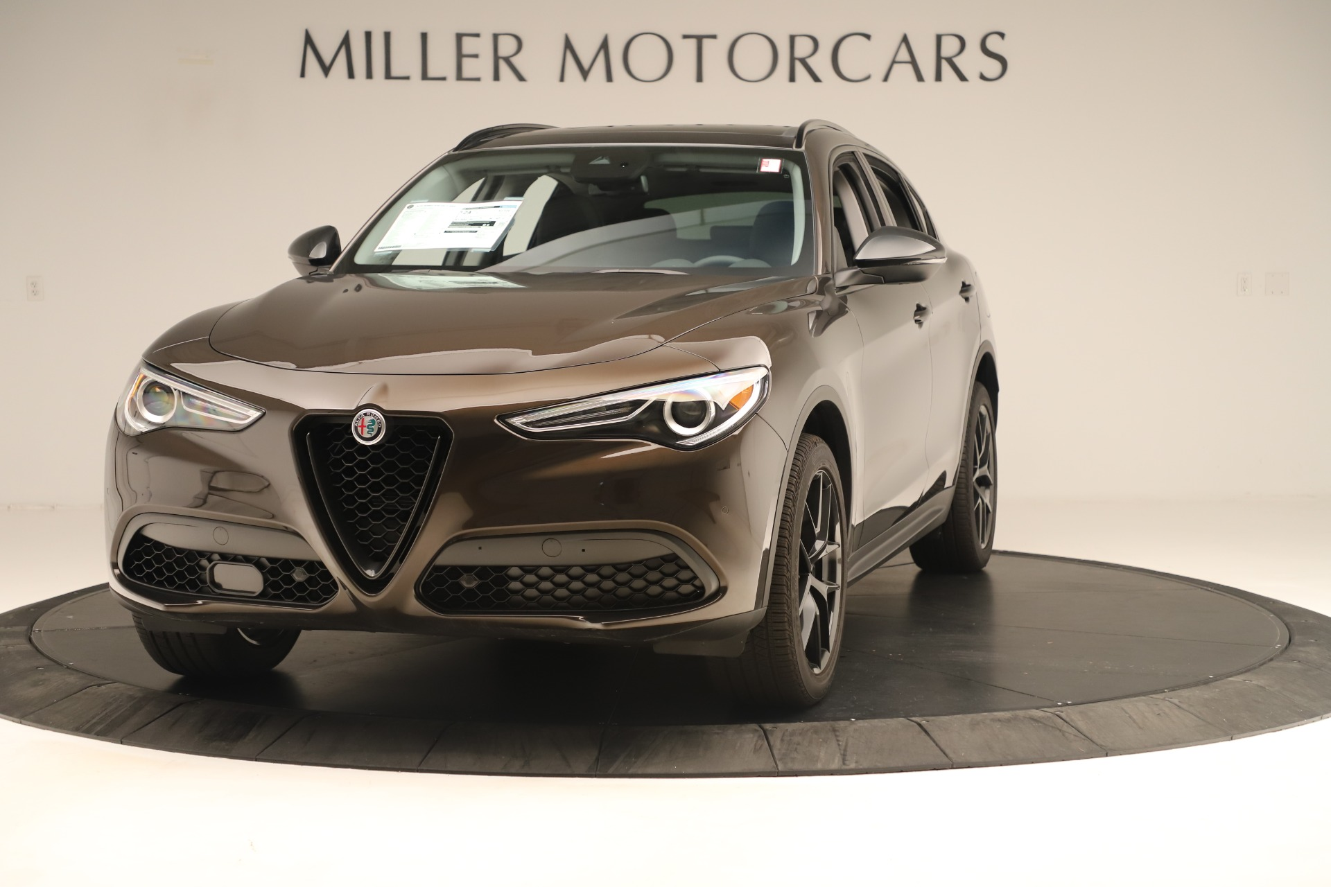 New 2019 Alfa Romeo Stelvio Ti Q4 For Sale In Greenwich, CT. Alfa Romeo of Greenwich, L661
