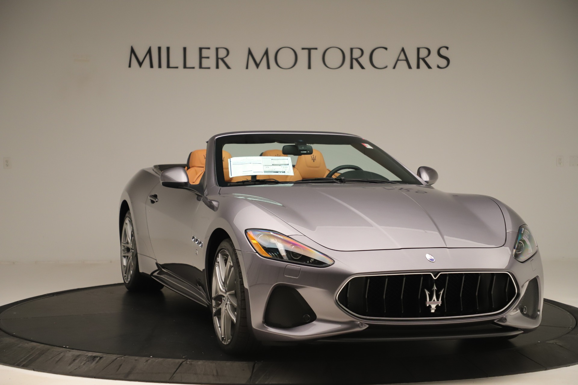 New 2019 Maserati GranTurismo Sport Convertible For Sale In Greenwich, CT. Alfa Romeo of Greenwich, W699 3410_p11
