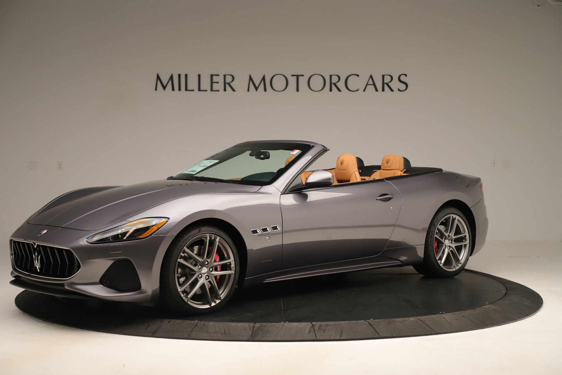 New 2019 Maserati GranTurismo Sport Convertible For Sale In Greenwich, CT. Alfa Romeo of Greenwich, W699 3410_p2
