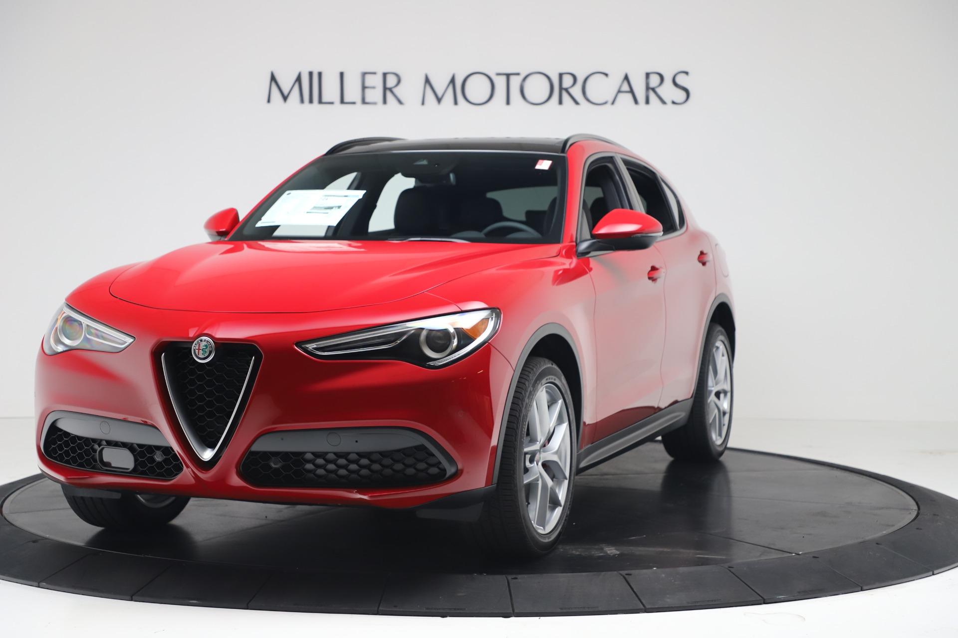 New 2019 Alfa Romeo Stelvio Ti Sport Q4 For Sale In Greenwich, CT. Alfa Romeo of Greenwich, LW382 3437_main