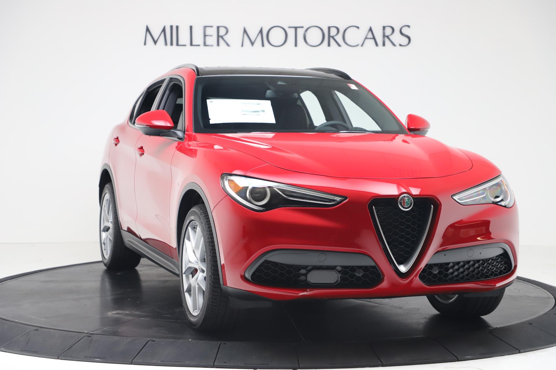 New 2019 Alfa Romeo Stelvio Ti Sport Q4 For Sale In Greenwich, CT. Alfa Romeo of Greenwich, LW382 3437_p11