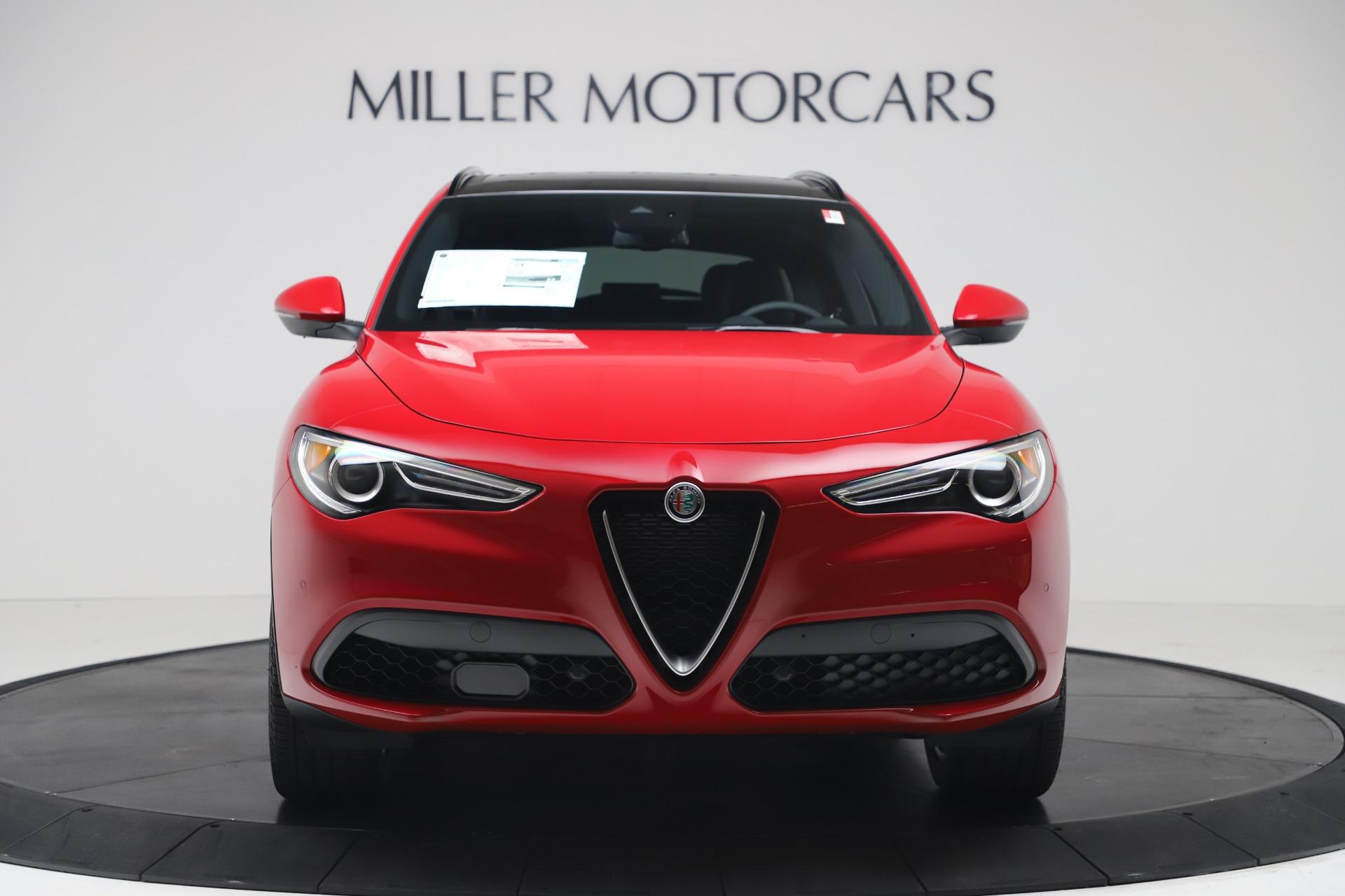 New 2019 Alfa Romeo Stelvio Ti Sport Q4 For Sale In Greenwich, CT. Alfa Romeo of Greenwich, LW382 3437_p12