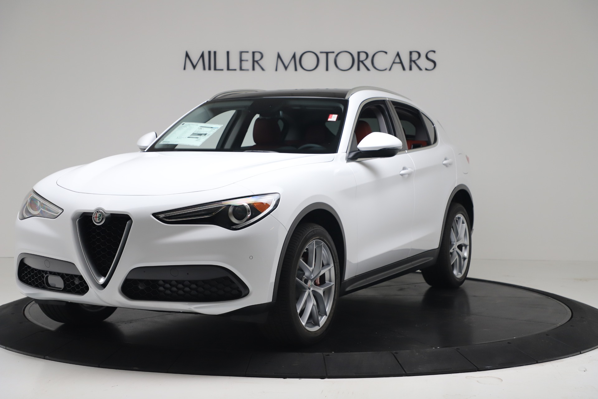 New 2019 Alfa Romeo Stelvio Ti Q4 For Sale In Greenwich, CT. Alfa Romeo of Greenwich, LW383 3438_main