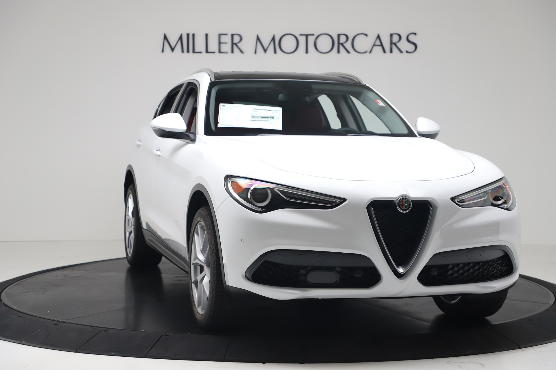 New 2019 Alfa Romeo Stelvio Ti Q4 For Sale In Greenwich, CT. Alfa Romeo of Greenwich, LW383 3438_p11