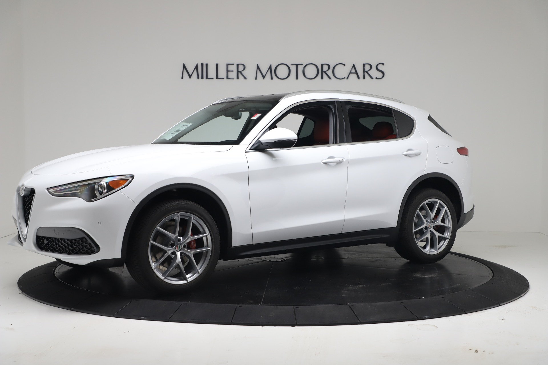 New 2019 Alfa Romeo Stelvio Ti Q4 For Sale In Greenwich, CT. Alfa Romeo of Greenwich, LW383 3438_p2