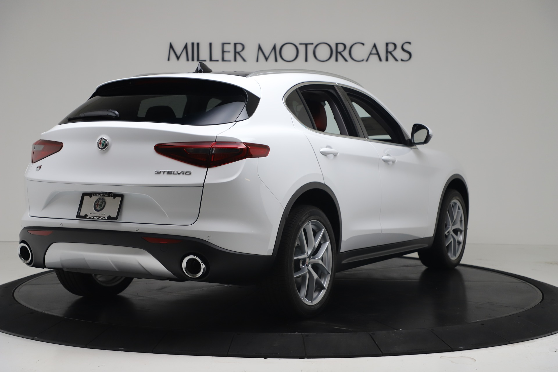 New 2019 Alfa Romeo Stelvio Ti Q4 For Sale In Greenwich, CT. Alfa Romeo of Greenwich, LW383 3438_p7