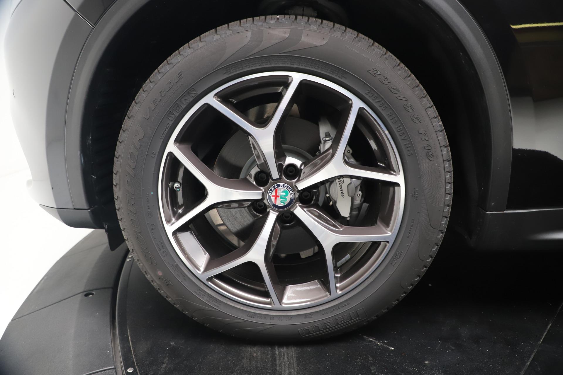 New 2019 Alfa Romeo Stelvio Ti Q4 For Sale In Greenwich, CT. Alfa Romeo of Greenwich, LW384 3439_p30