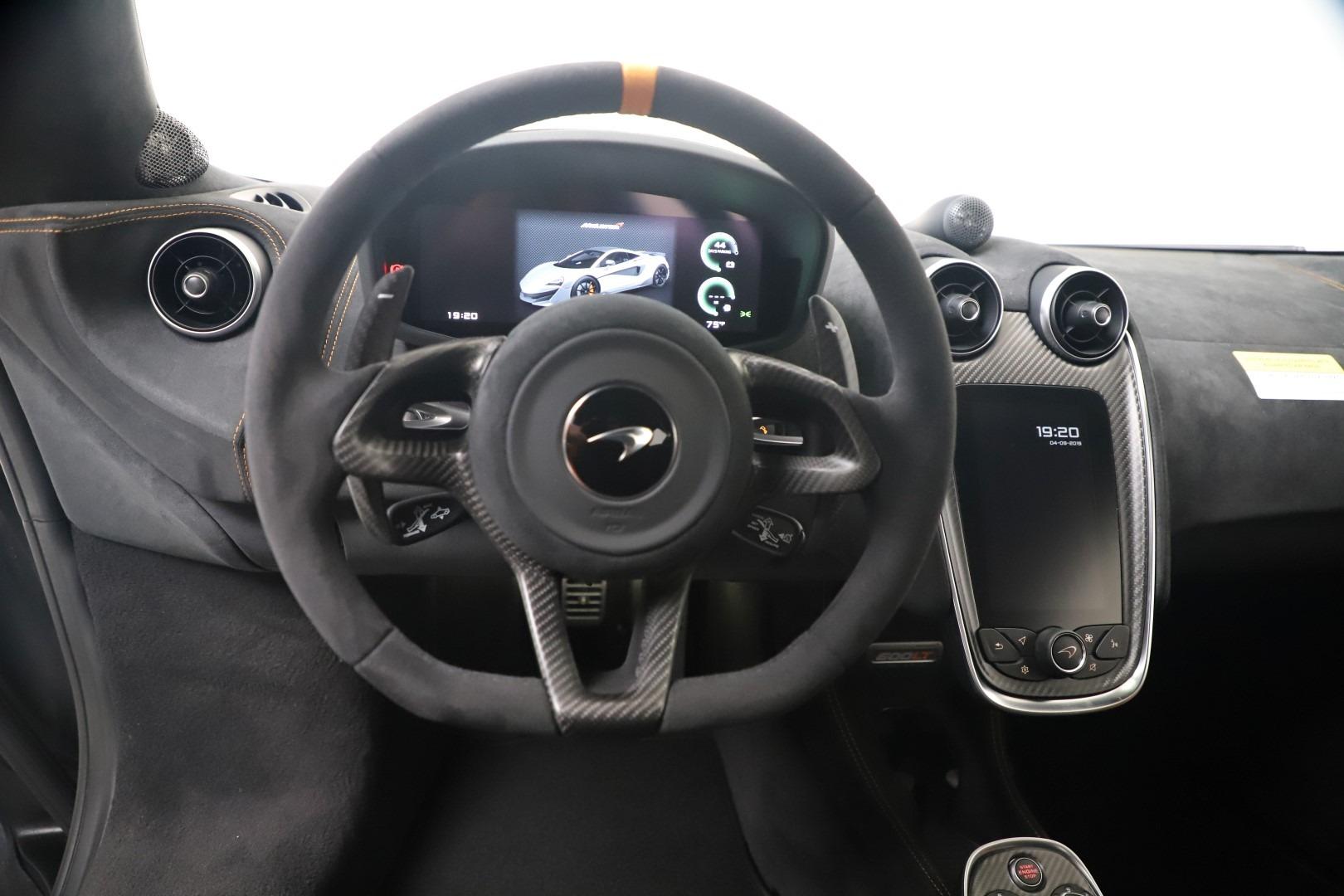 New 2019 McLaren 600LT Coupe For Sale In Greenwich, CT. Alfa Romeo of Greenwich, MC465 3454_p18