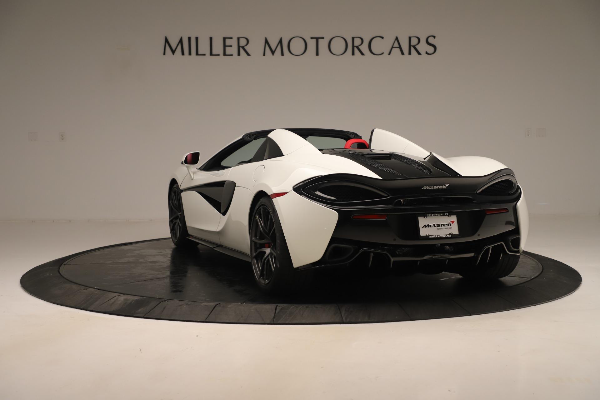New 2020 McLaren 570S Convertible For Sale In Greenwich, CT. Alfa Romeo of Greenwich, MC468 3464_p4
