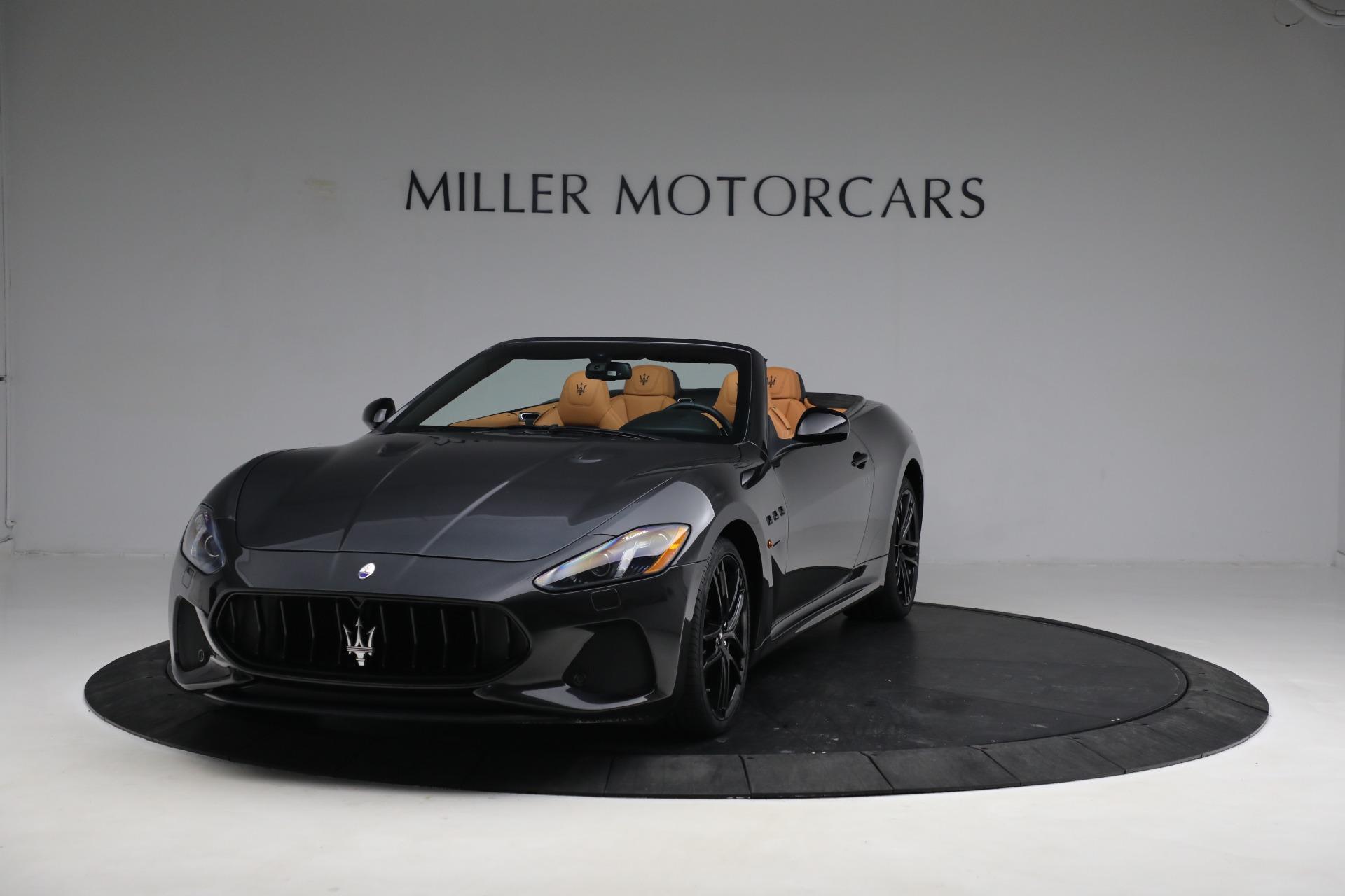 New 2019 Maserati GranTurismo MC Convertible For Sale In Greenwich, CT. Alfa Romeo of Greenwich, W703 3468_main