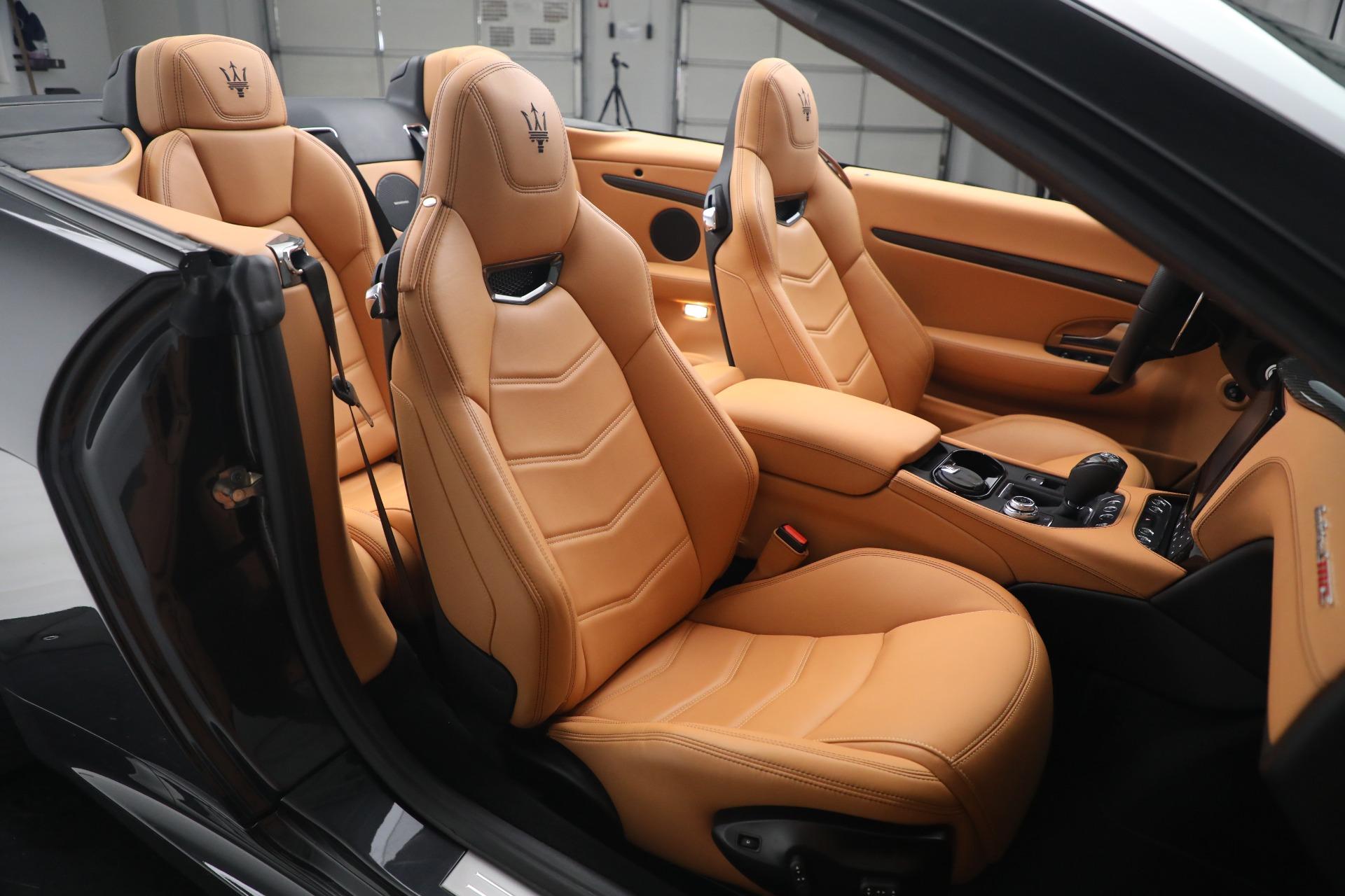 New 2019 Maserati GranTurismo MC Convertible For Sale In Greenwich, CT. Alfa Romeo of Greenwich, W703 3468_p31