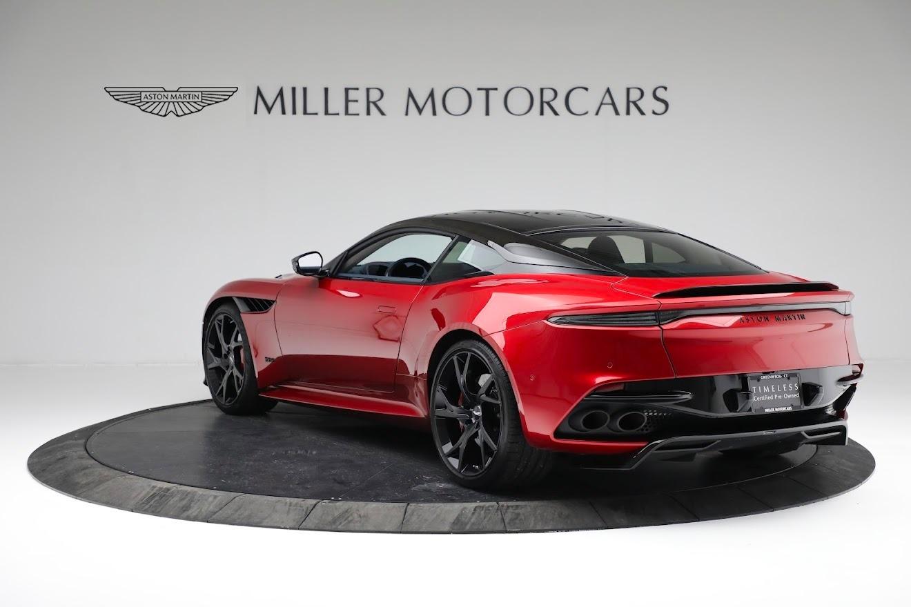 Used 2019 Aston Martin DBS Superleggera For Sale In Greenwich, CT. Alfa Romeo of Greenwich, A1407B 3471_p4