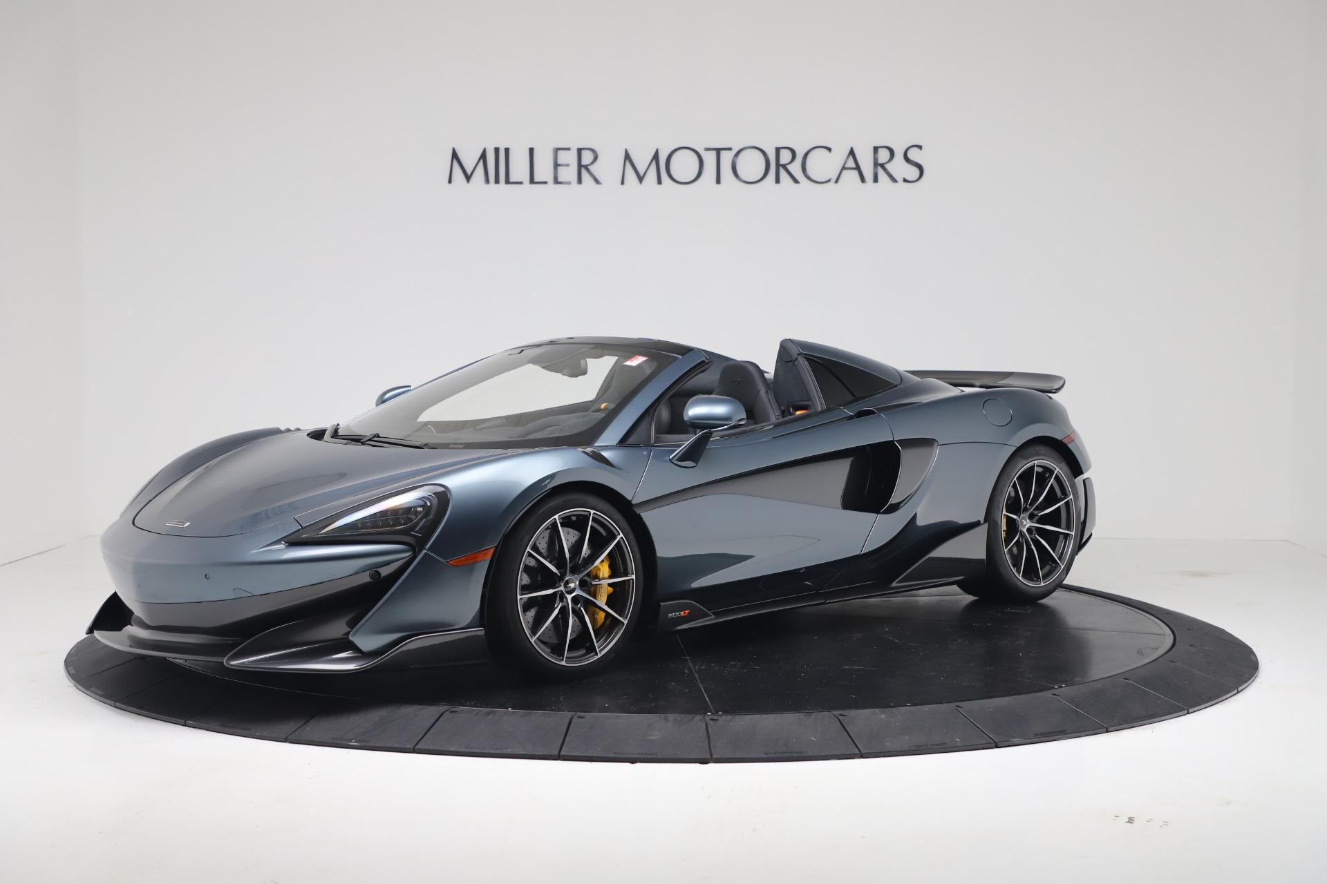 New 2020 McLaren 600LT Convertible For Sale In Greenwich, CT. Alfa Romeo of Greenwich, MC463 3478_main