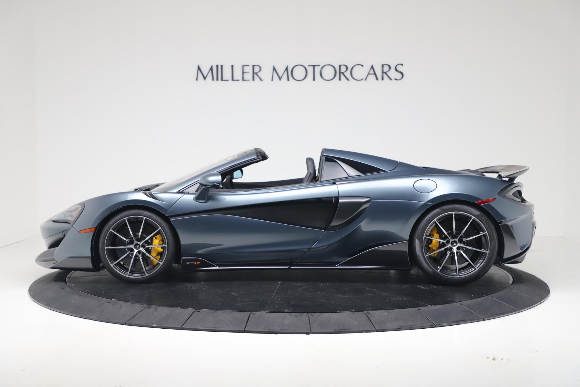 New 2020 McLaren 600LT Convertible For Sale In Greenwich, CT. Alfa Romeo of Greenwich, MC463 3478_p3