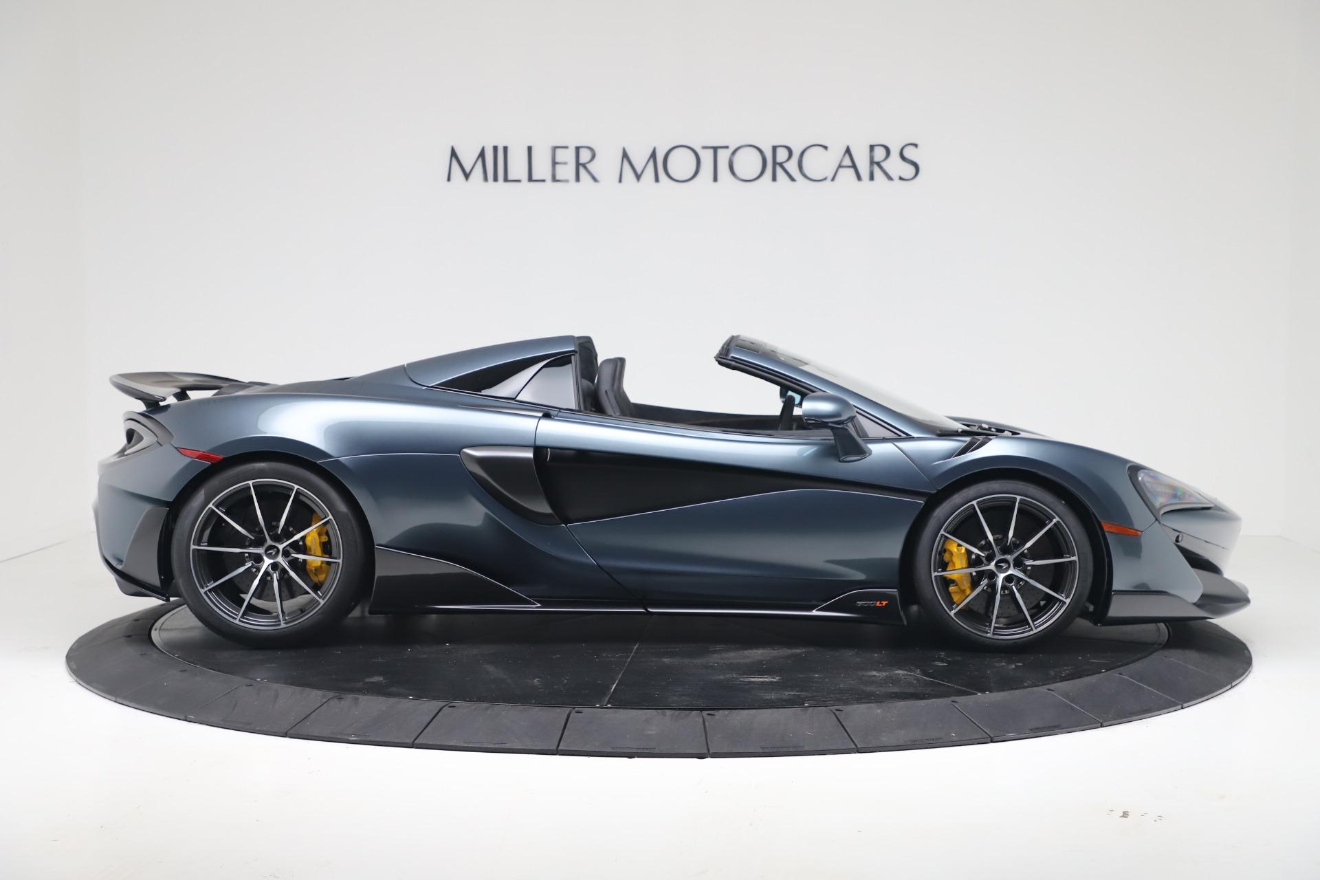 New 2020 McLaren 600LT Convertible For Sale In Greenwich, CT. Alfa Romeo of Greenwich, MC463 3478_p8
