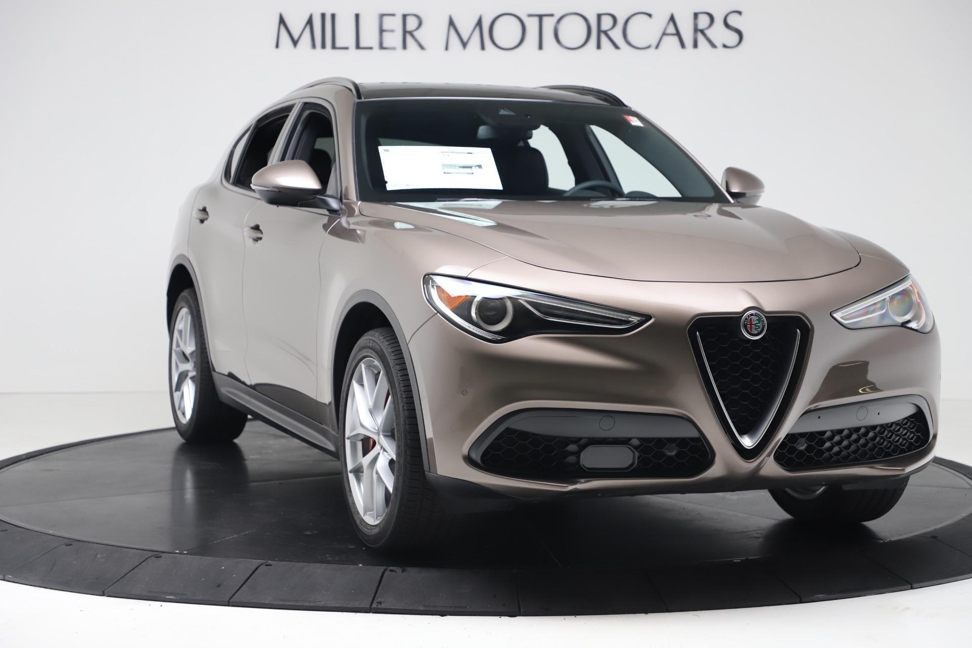 New 2019 Alfa Romeo Stelvio Ti Sport Q4 For Sale In Greenwich, CT. Alfa Romeo of Greenwich, LW388 3489_p11