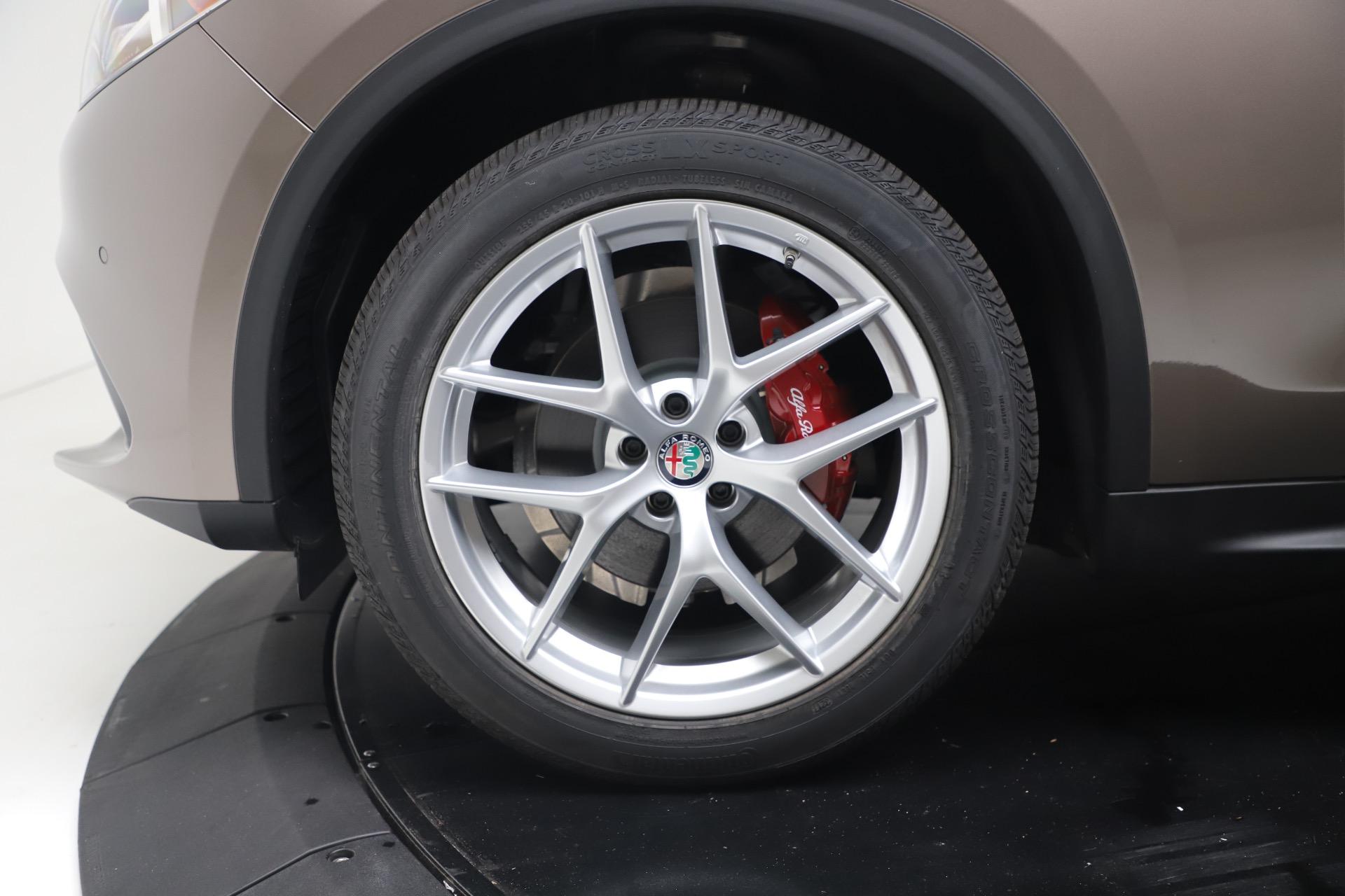 New 2019 Alfa Romeo Stelvio Ti Sport Q4 For Sale In Greenwich, CT. Alfa Romeo of Greenwich, LW388 3489_p30