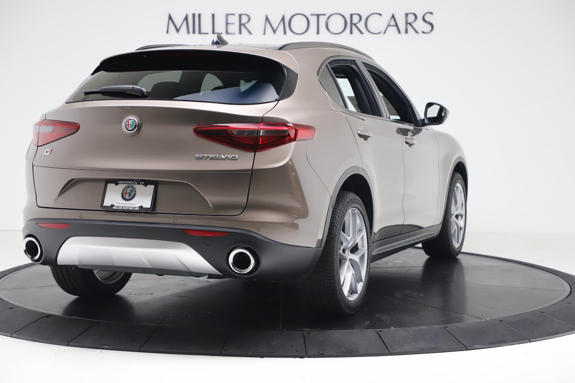 New 2019 Alfa Romeo Stelvio Ti Sport Q4 For Sale In Greenwich, CT. Alfa Romeo of Greenwich, LW388 3489_p7