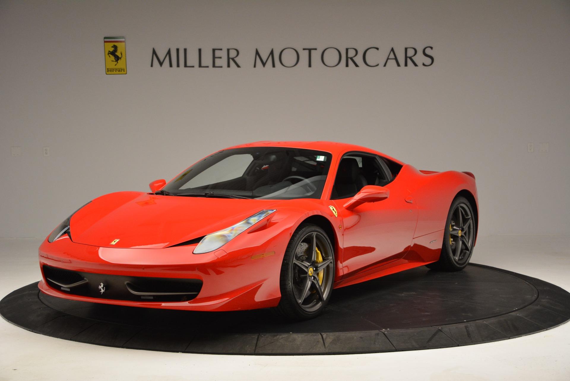 Used 2013 Ferrari 458 Italia  For Sale In Greenwich, CT. Alfa Romeo of Greenwich, 4610 3490_main