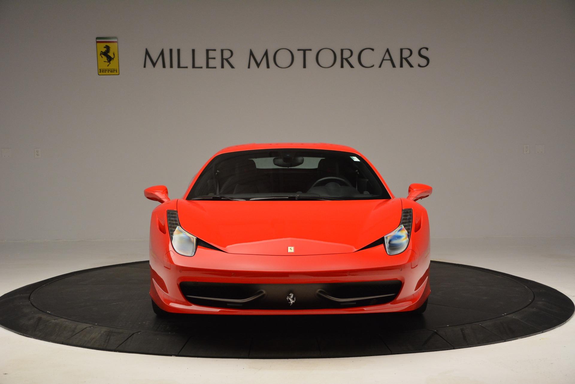 Used 2013 Ferrari 458 Italia  For Sale In Greenwich, CT. Alfa Romeo of Greenwich, 4610 3490_p12