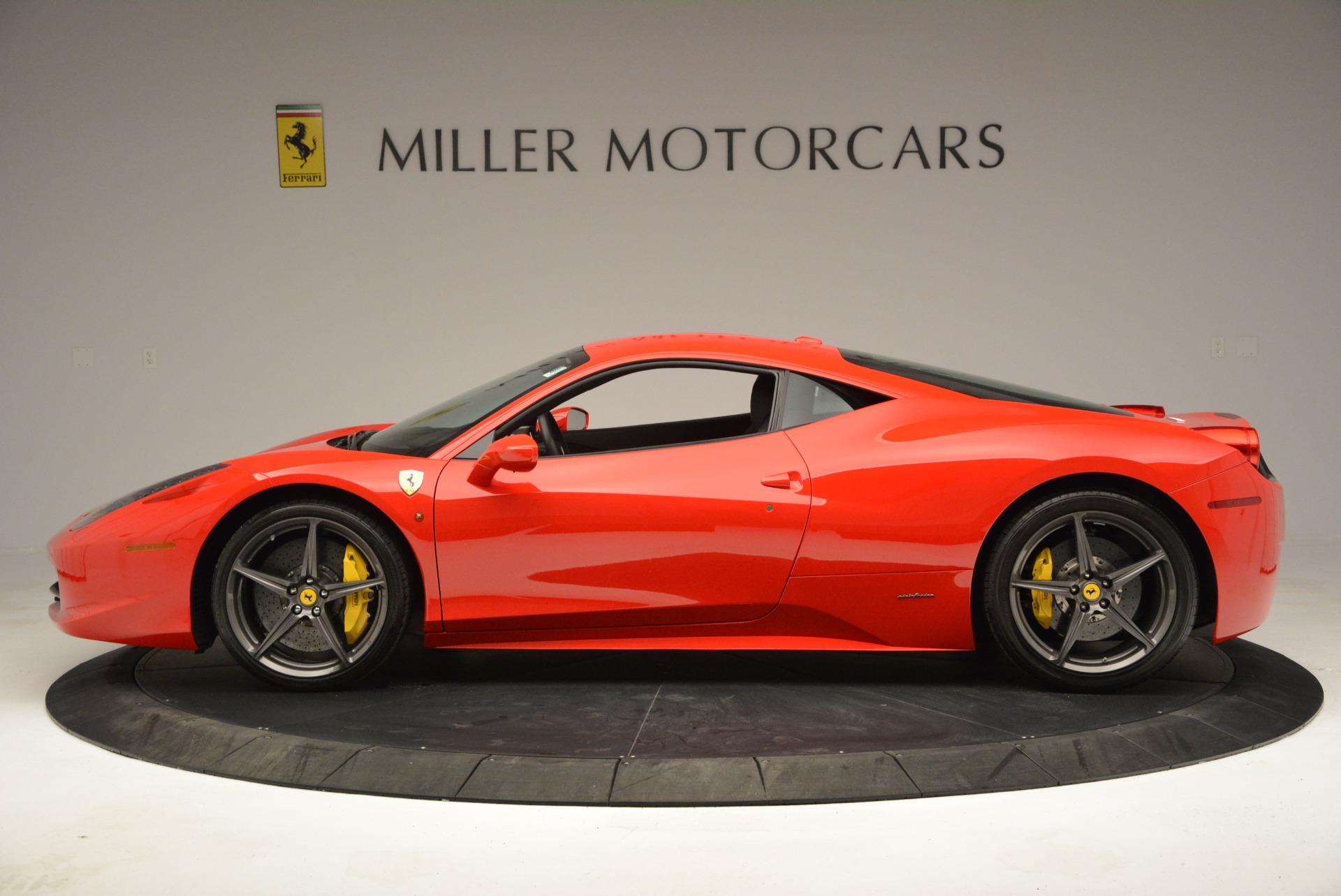 Used 2013 Ferrari 458 Italia  For Sale In Greenwich, CT. Alfa Romeo of Greenwich, 4610 3490_p3