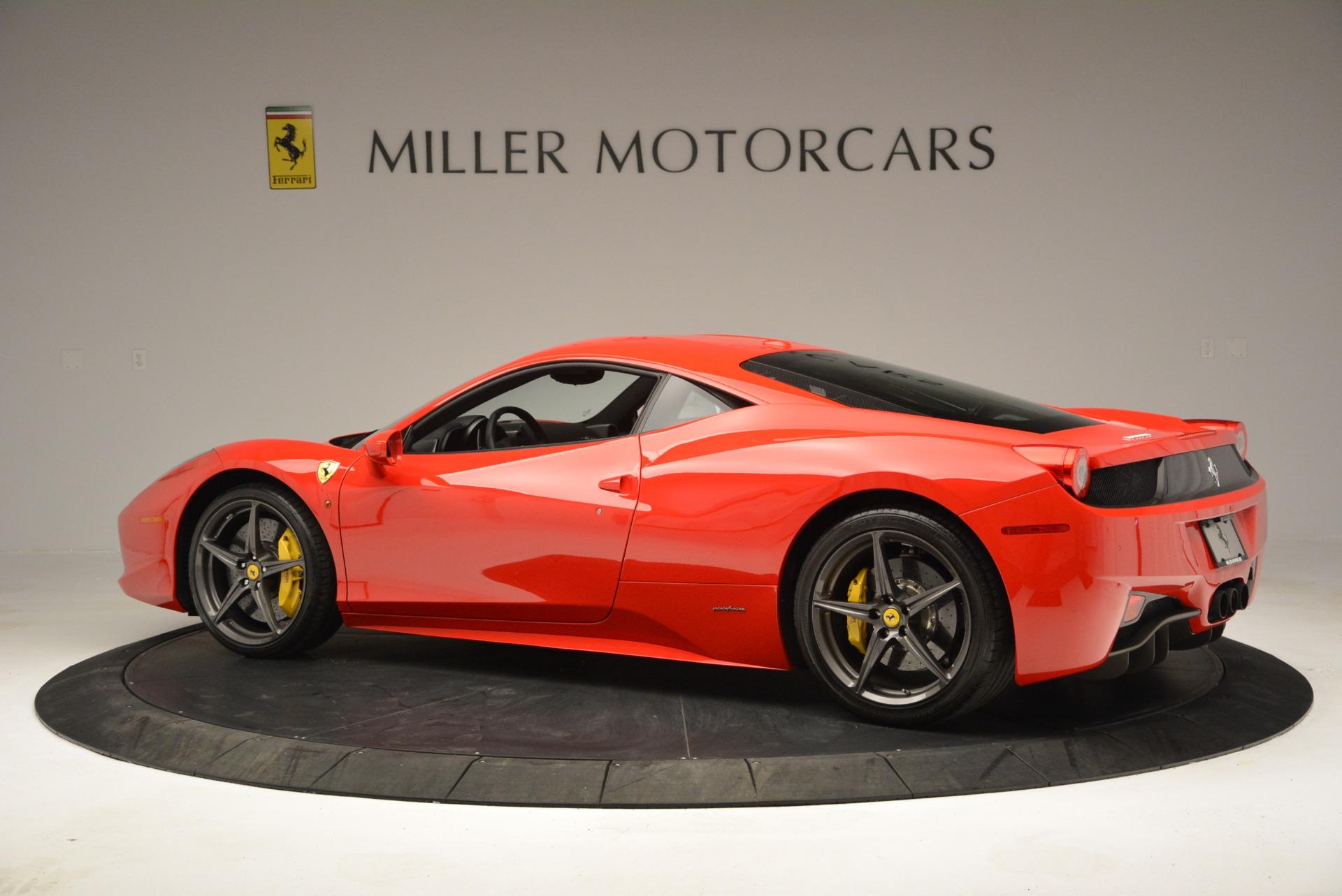 Used 2013 Ferrari 458 Italia  For Sale In Greenwich, CT. Alfa Romeo of Greenwich, 4610 3490_p4