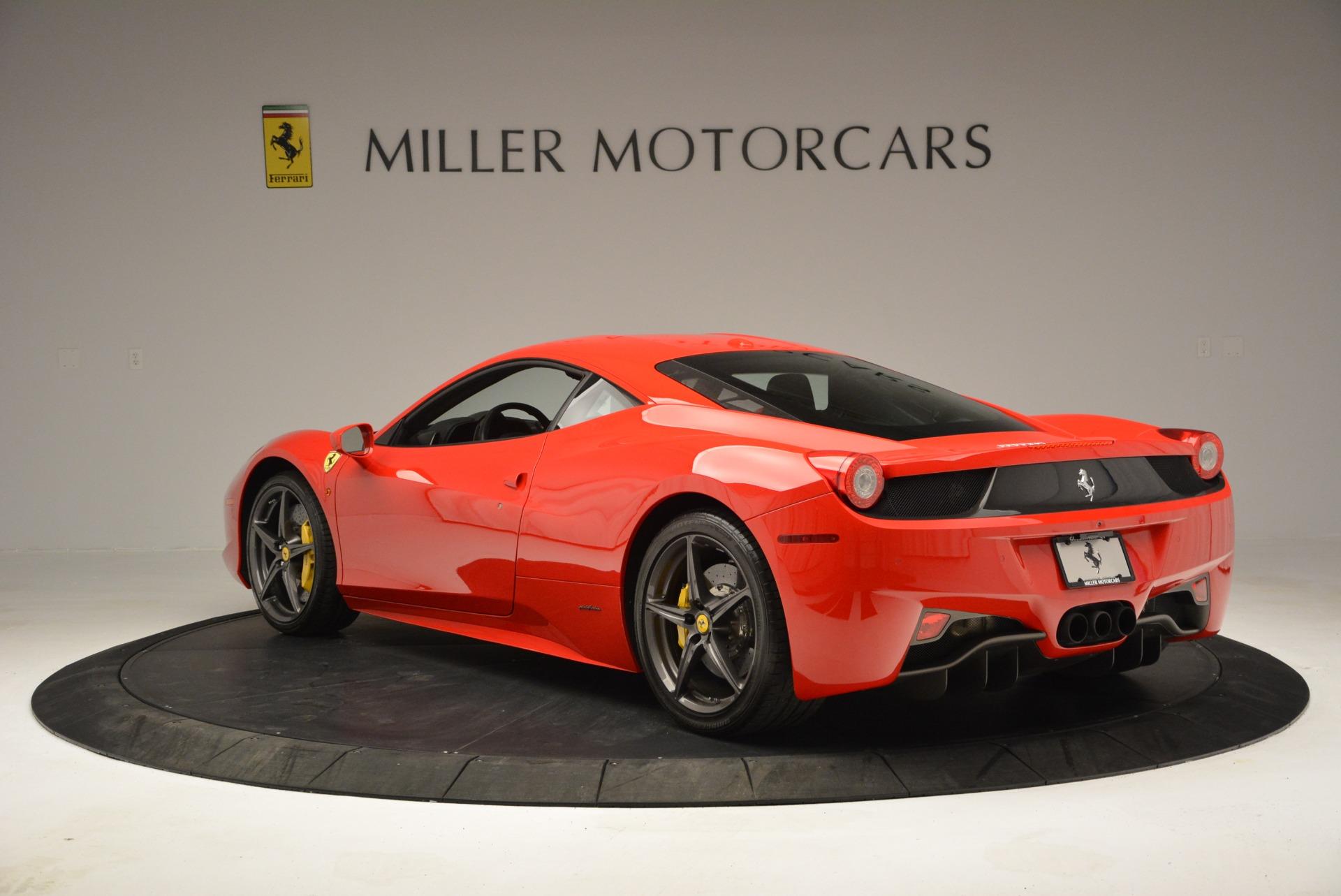 Used 2013 Ferrari 458 Italia  For Sale In Greenwich, CT. Alfa Romeo of Greenwich, 4610 3490_p5