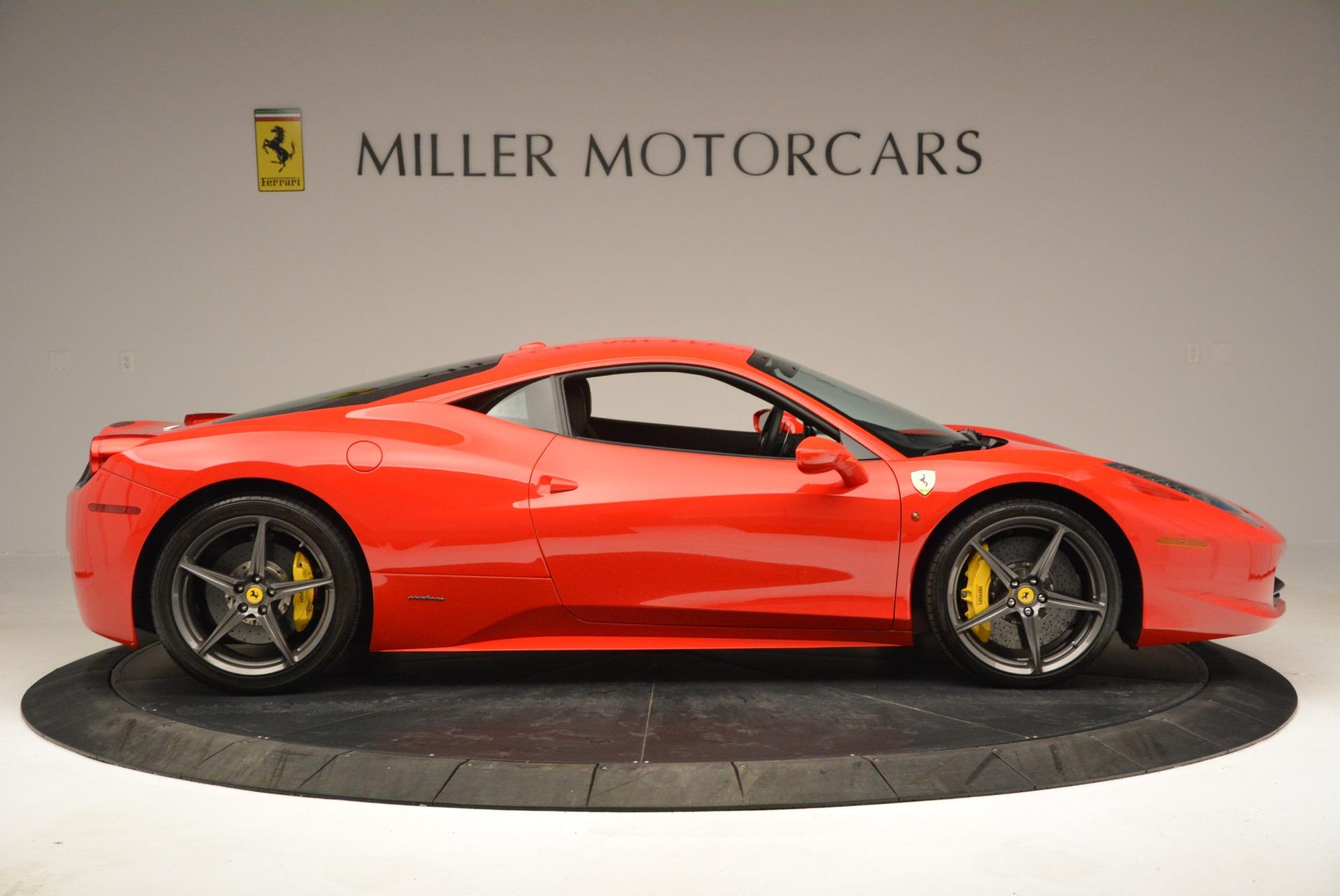Used 2013 Ferrari 458 Italia  For Sale In Greenwich, CT. Alfa Romeo of Greenwich, 4610 3490_p9