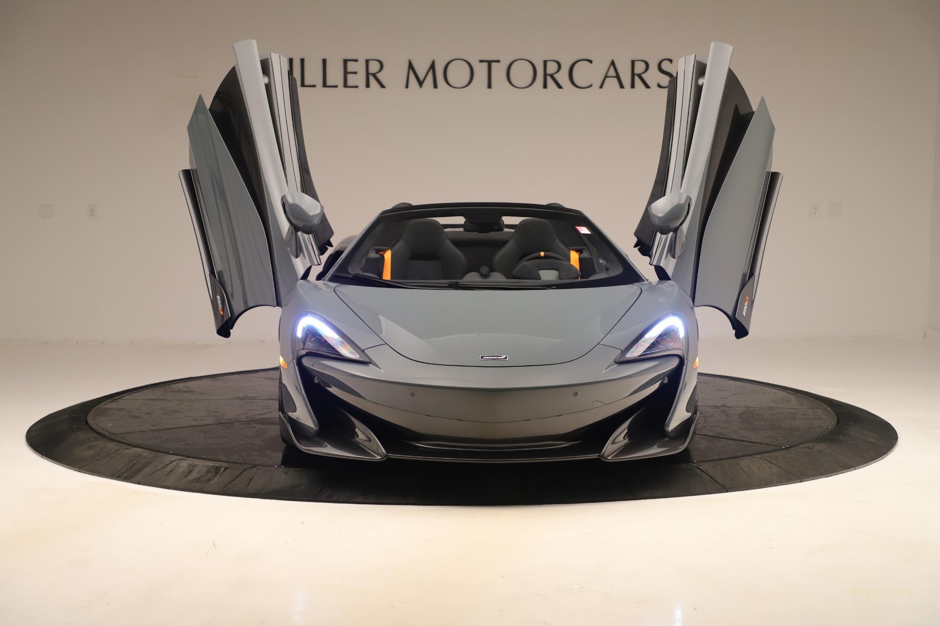 New 2020 McLaren 600LT Convertible For Sale In Greenwich, CT. Alfa Romeo of Greenwich, MC459 3498_p12