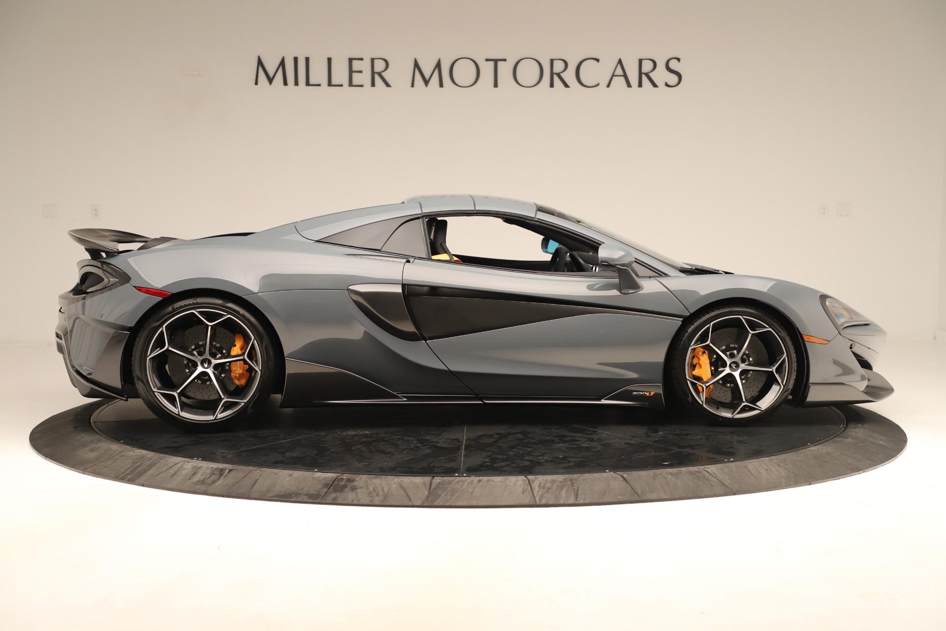 New 2020 McLaren 600LT Convertible For Sale In Greenwich, CT. Alfa Romeo of Greenwich, MC459 3498_p19