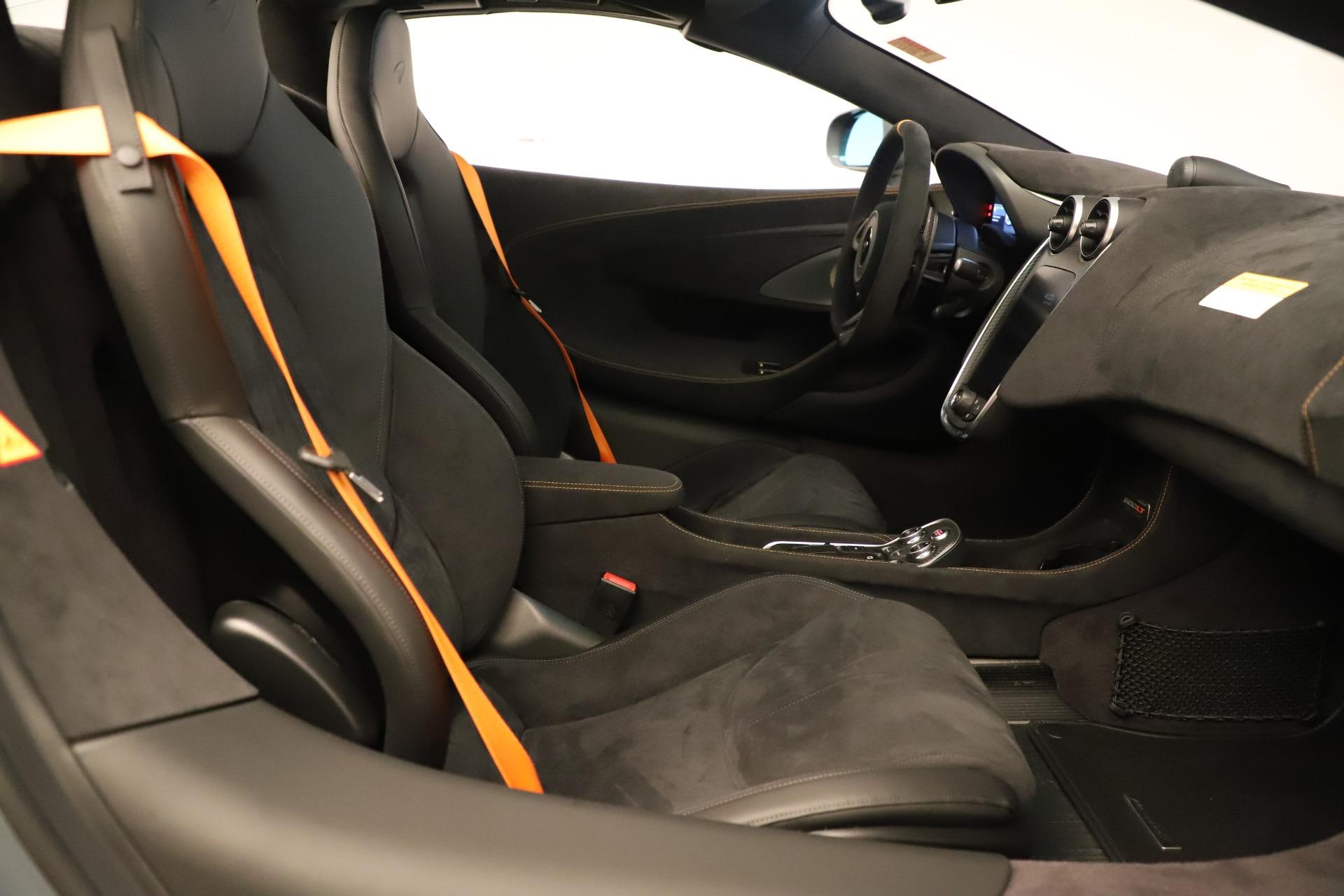 New 2020 McLaren 600LT Convertible For Sale In Greenwich, CT. Alfa Romeo of Greenwich, MC459 3498_p26