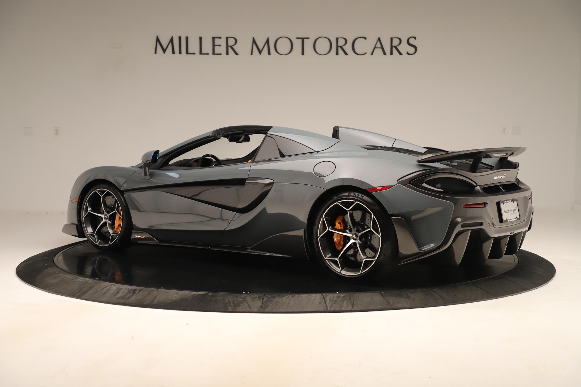 New 2020 McLaren 600LT Convertible For Sale In Greenwich, CT. Alfa Romeo of Greenwich, MC459 3498_p3