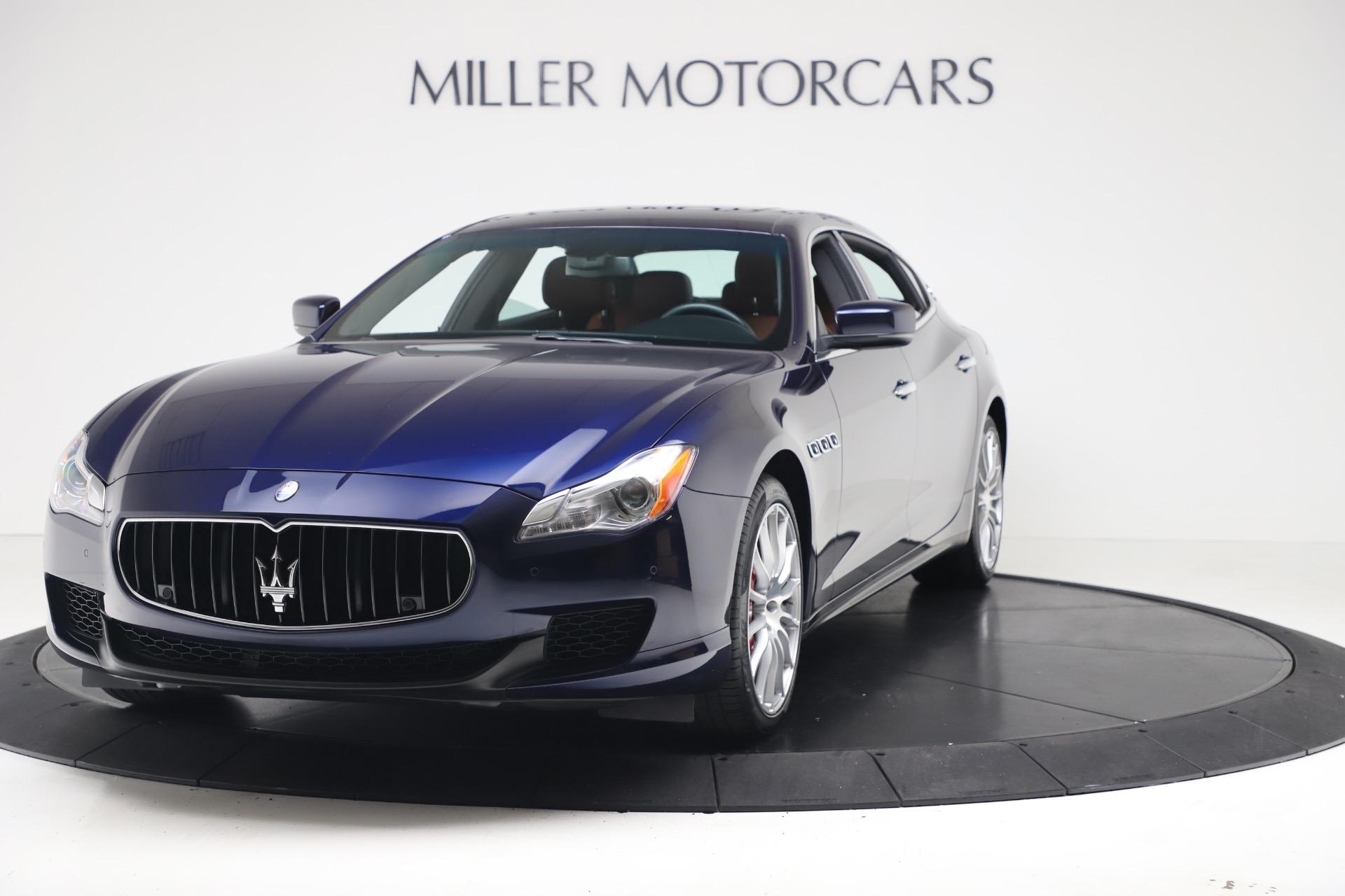 Used 2016 Maserati Quattroporte S Q4 For Sale In Greenwich, CT. Alfa Romeo of Greenwich, 7653 3501_main