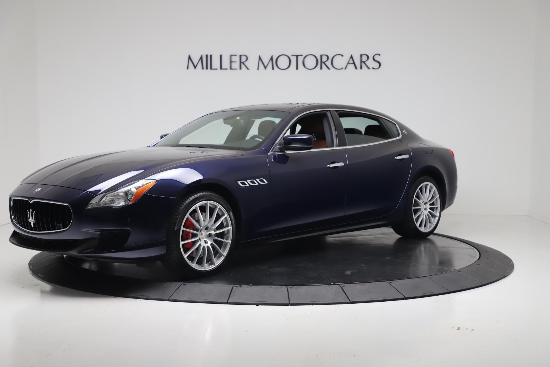 Used 2016 Maserati Quattroporte S Q4 For Sale In Greenwich, CT. Alfa Romeo of Greenwich, 7653 3501_p2
