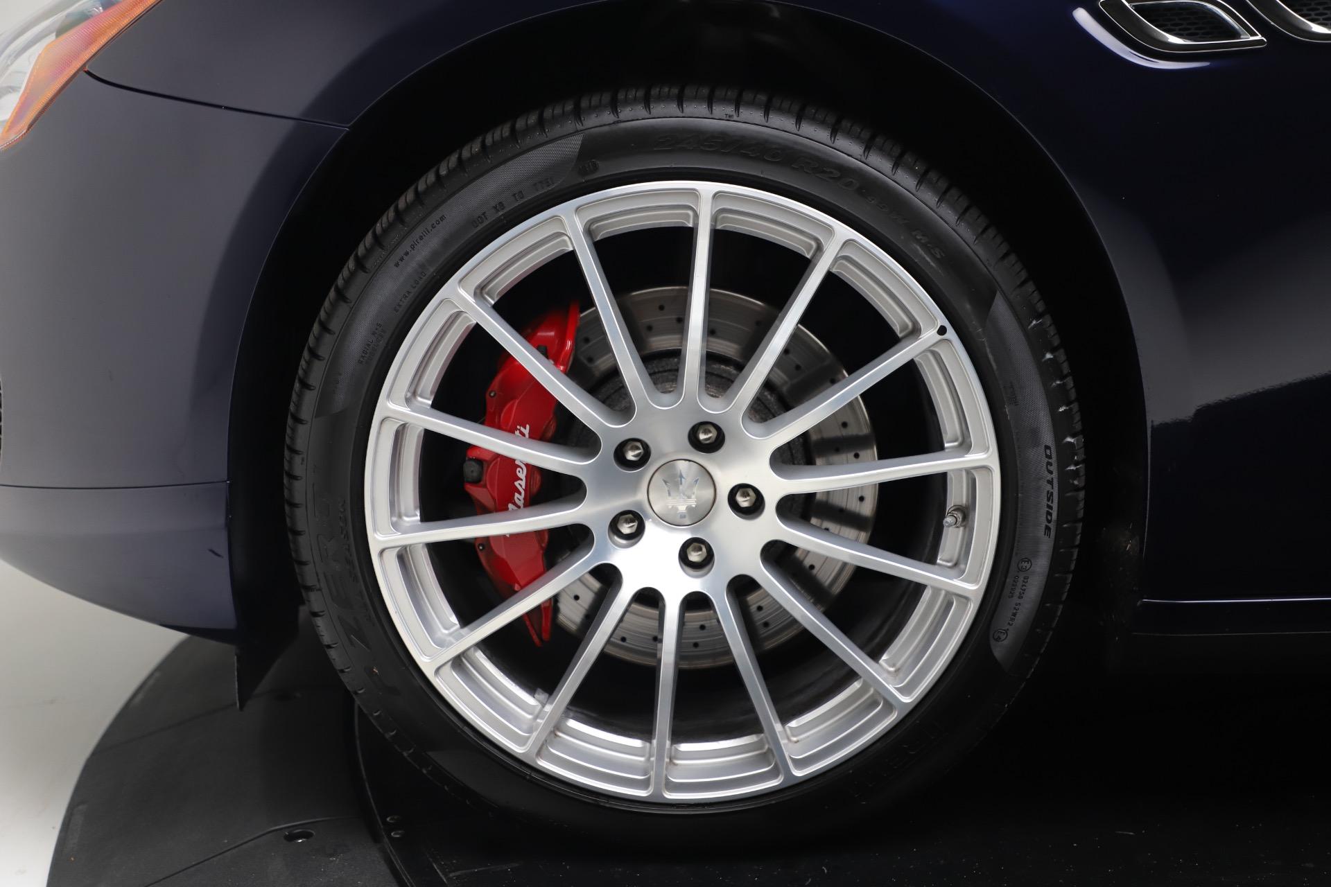 Used 2016 Maserati Quattroporte S Q4 For Sale In Greenwich, CT. Alfa Romeo of Greenwich, 7653 3501_p30