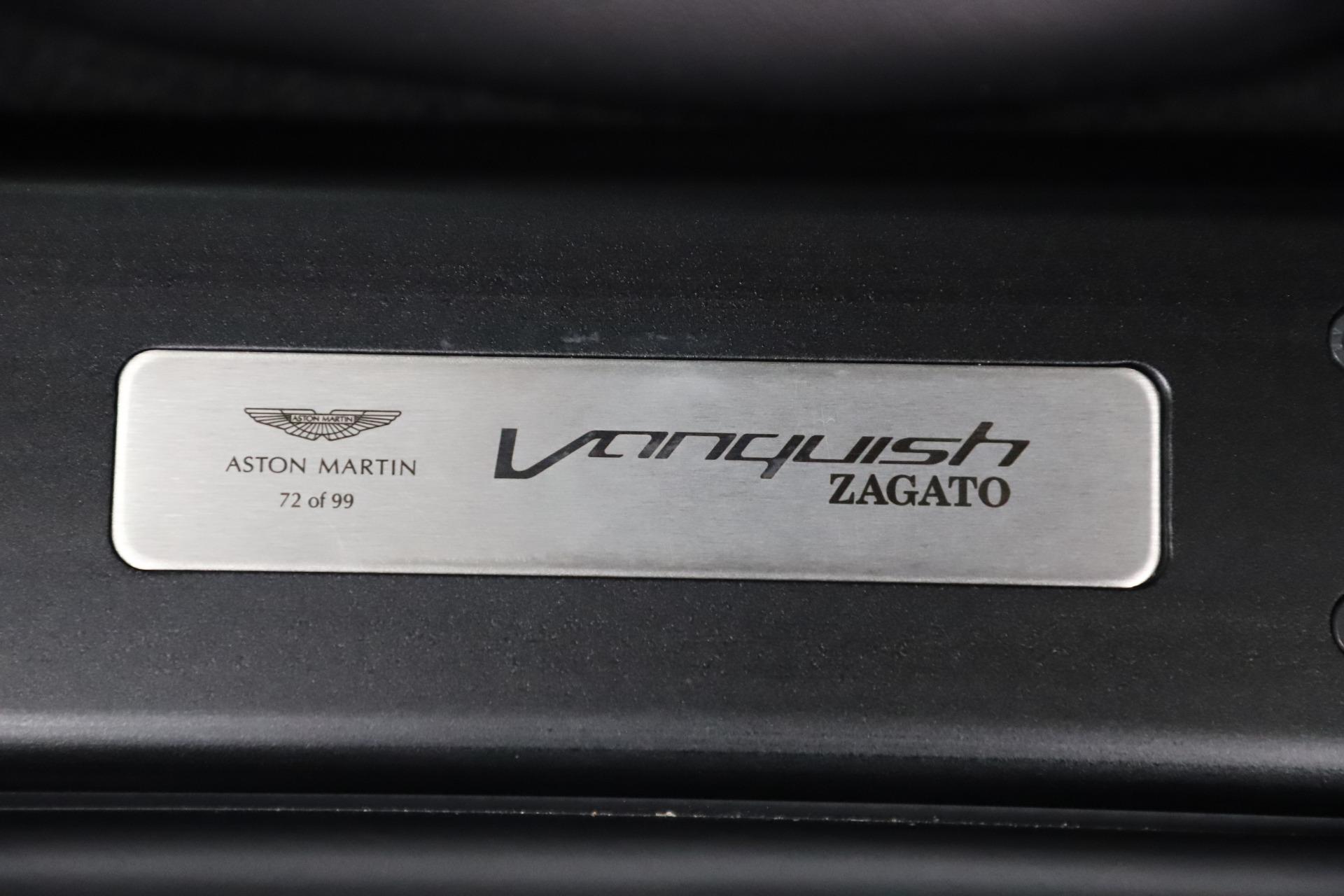 New 2019 Aston Martin Vanquish Zagato Shooting Brake For Sale In Greenwich, CT. Alfa Romeo of Greenwich, 7664C 3512_p41