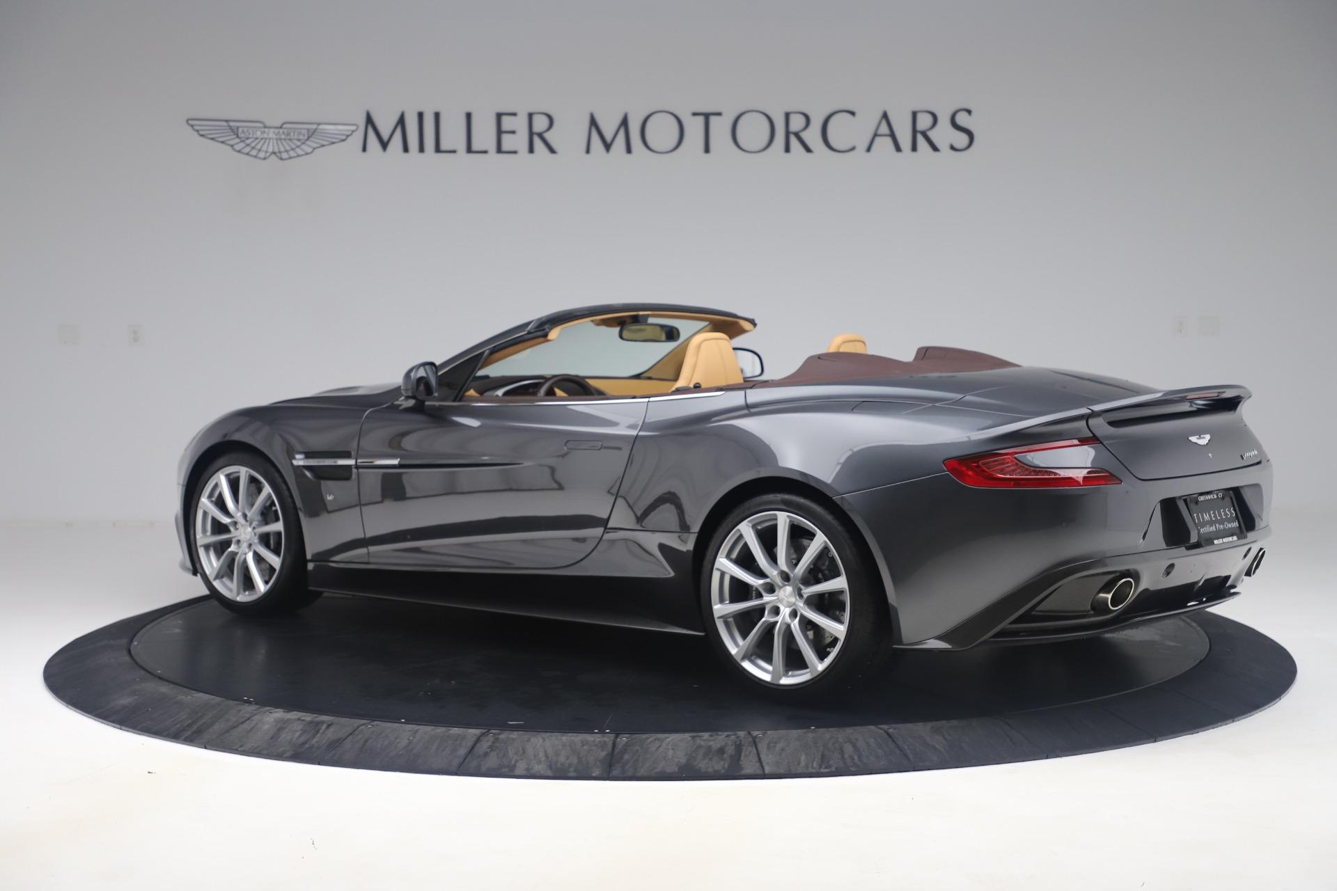 Used 2016 Aston Martin Vanquish Volante For Sale In Greenwich, CT. Alfa Romeo of Greenwich, 7676 3542_p3