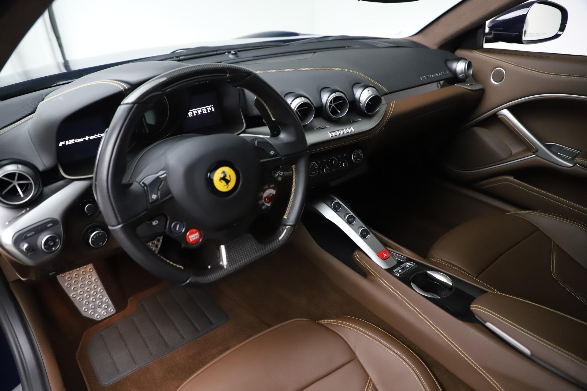 Used 2017 Ferrari F12 Berlinetta  For Sale In Greenwich, CT. Alfa Romeo of Greenwich, 4621 3563_p13