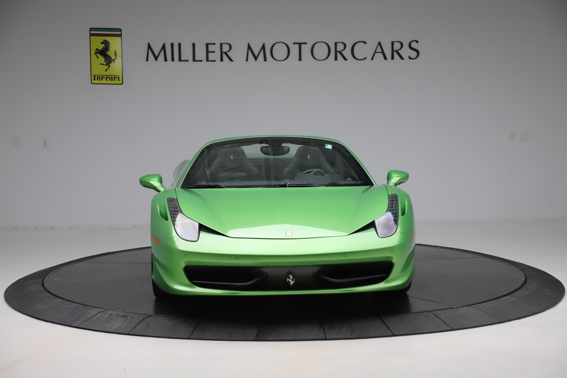 Used 2015 Ferrari 458 Spider  For Sale In Greenwich, CT. Alfa Romeo of Greenwich, 4613 3580_p12