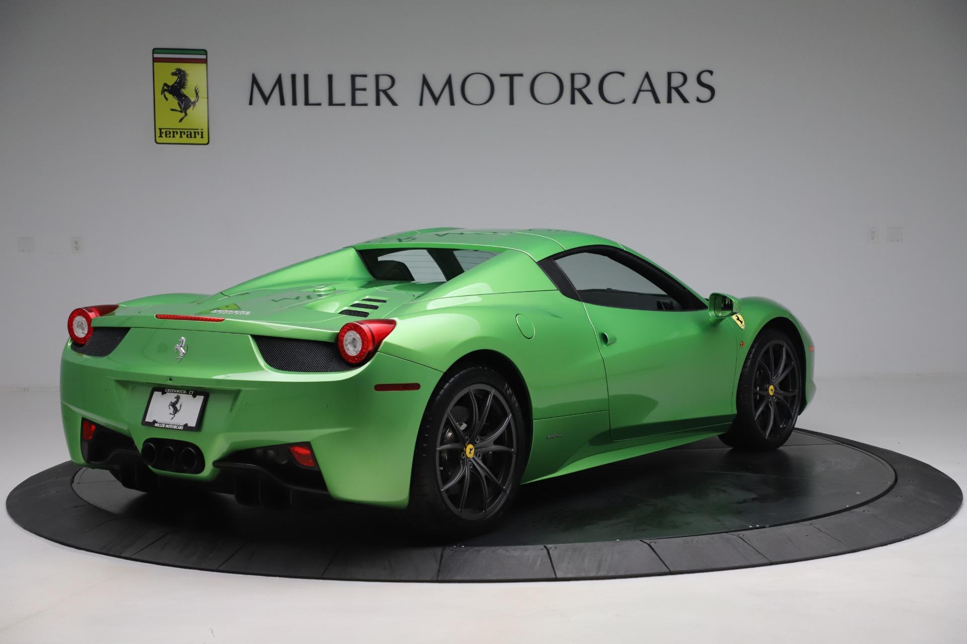 Used 2015 Ferrari 458 Spider  For Sale In Greenwich, CT. Alfa Romeo of Greenwich, 4613 3580_p16