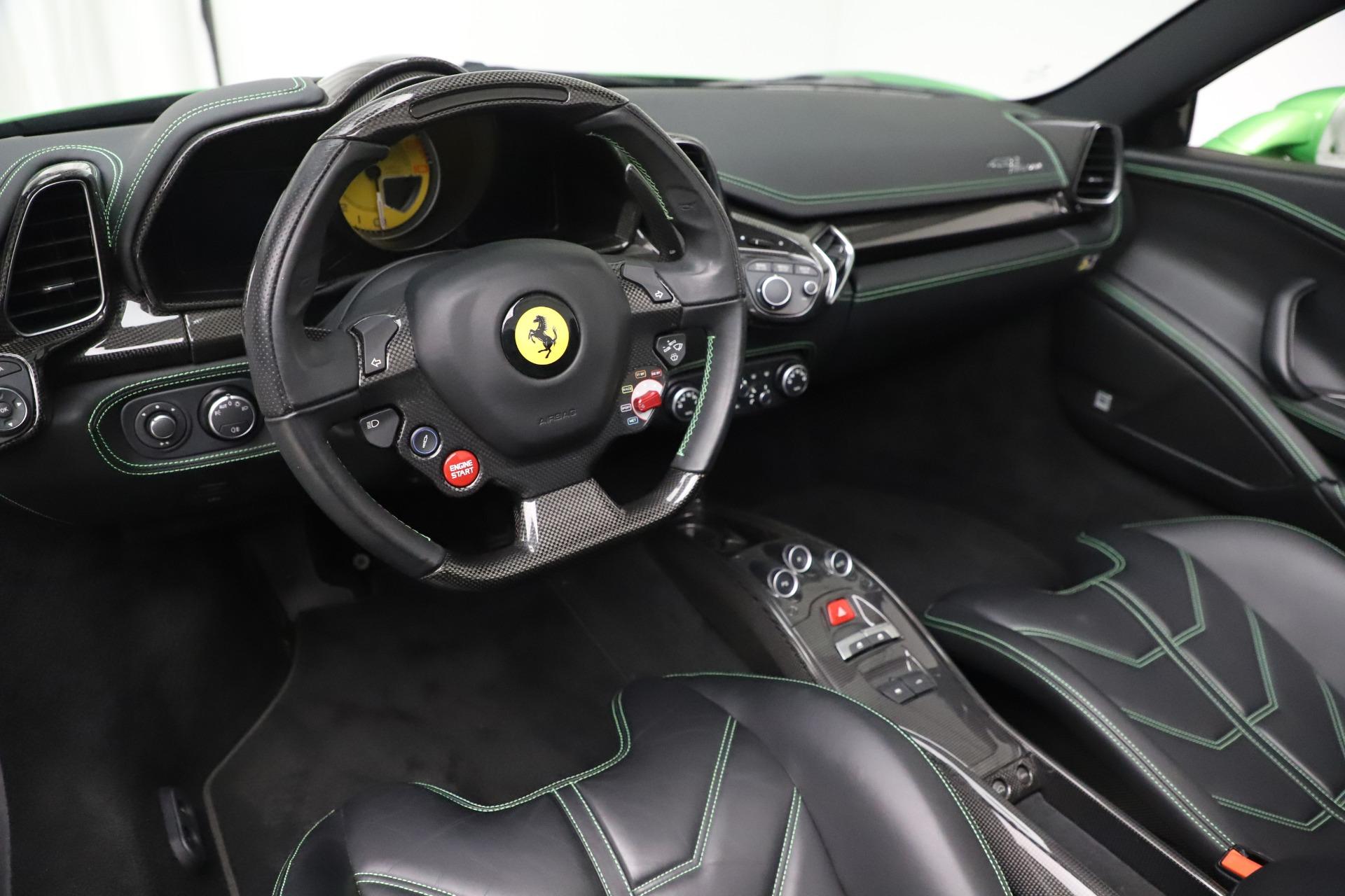 Used 2015 Ferrari 458 Spider  For Sale In Greenwich, CT. Alfa Romeo of Greenwich, 4613 3580_p19