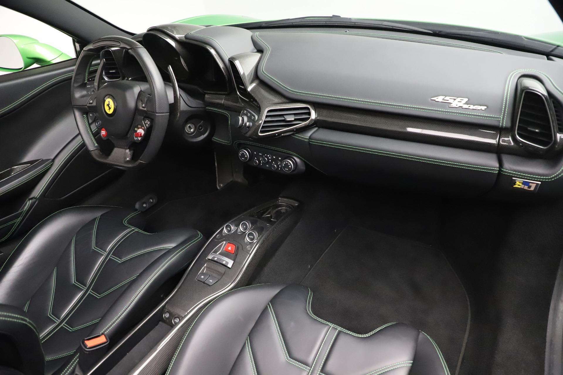 Used 2015 Ferrari 458 Spider  For Sale In Greenwich, CT. Alfa Romeo of Greenwich, 4613 3580_p23